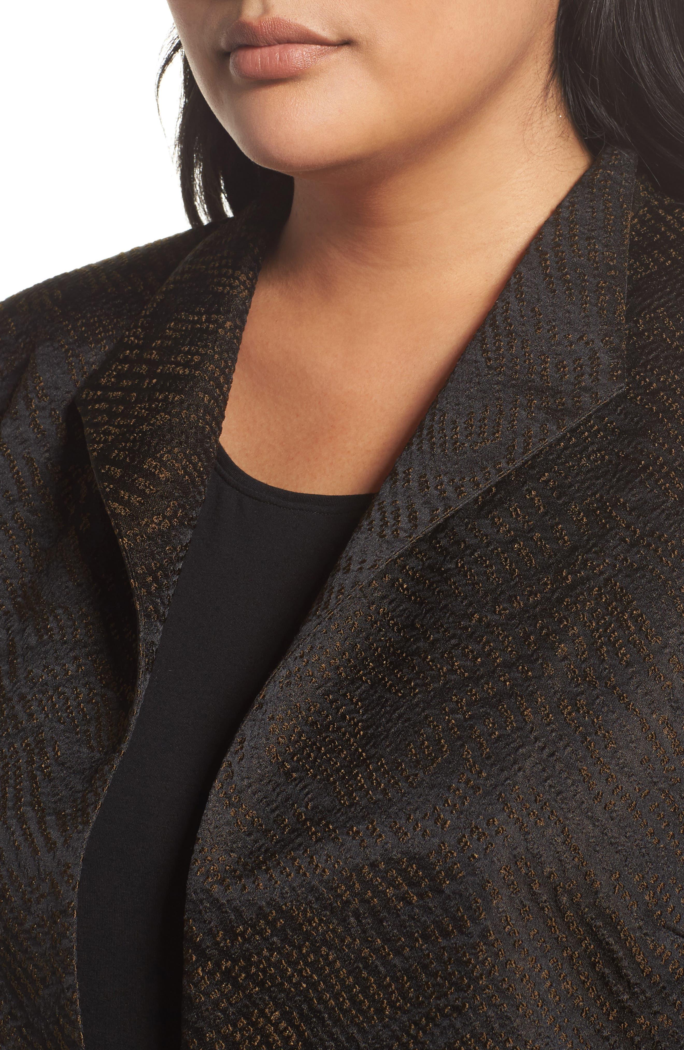 Silk Blend Jacquard Jacket,                             Alternate thumbnail 7, color,