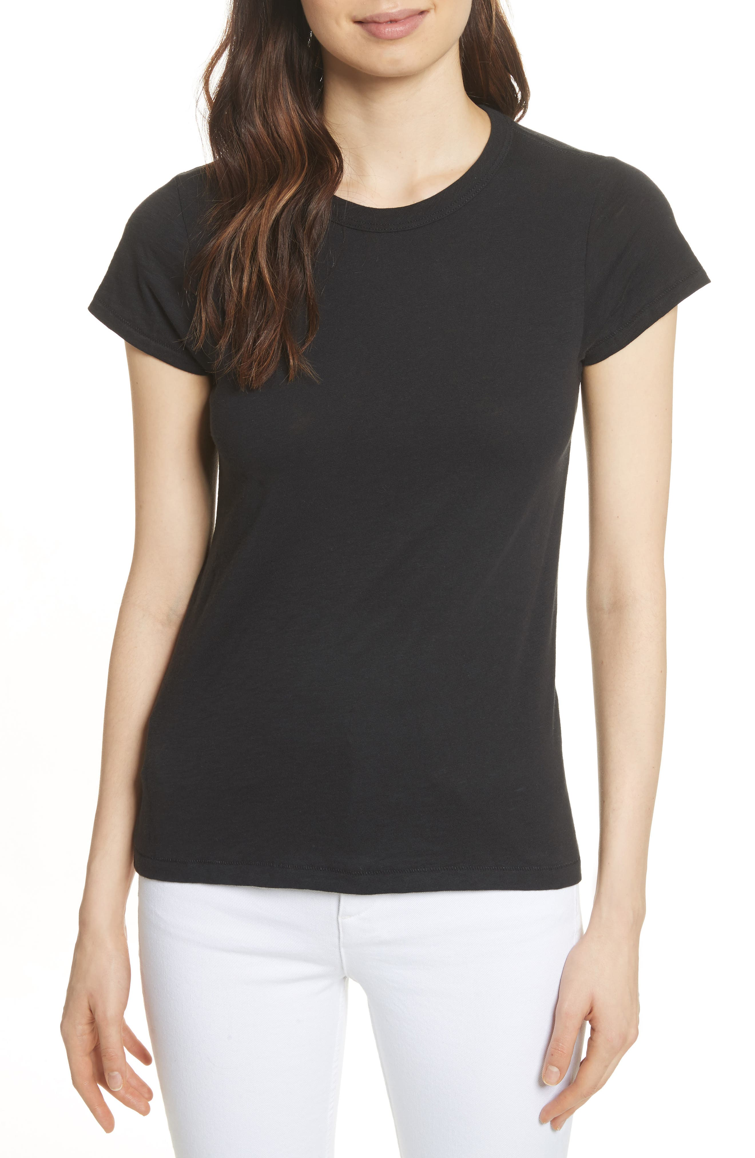 rag & bone The Tee,                             Main thumbnail 1, color,                             001