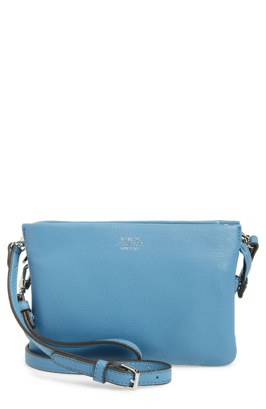 'Cami' Leather Crossbody Bag,                             Main thumbnail 23, color,