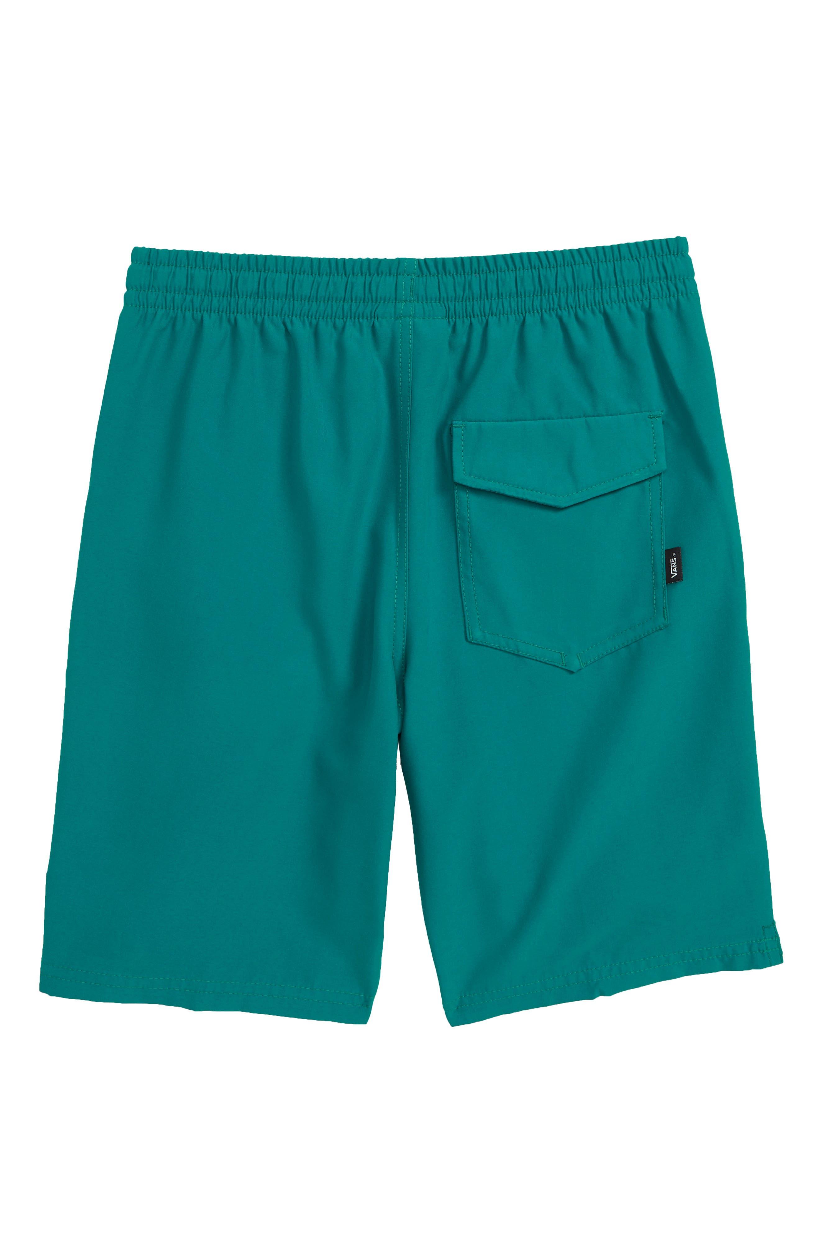 VANS,                             Primary Decksider Volley Shorts,                             Alternate thumbnail 2, color,                             QUETZAL