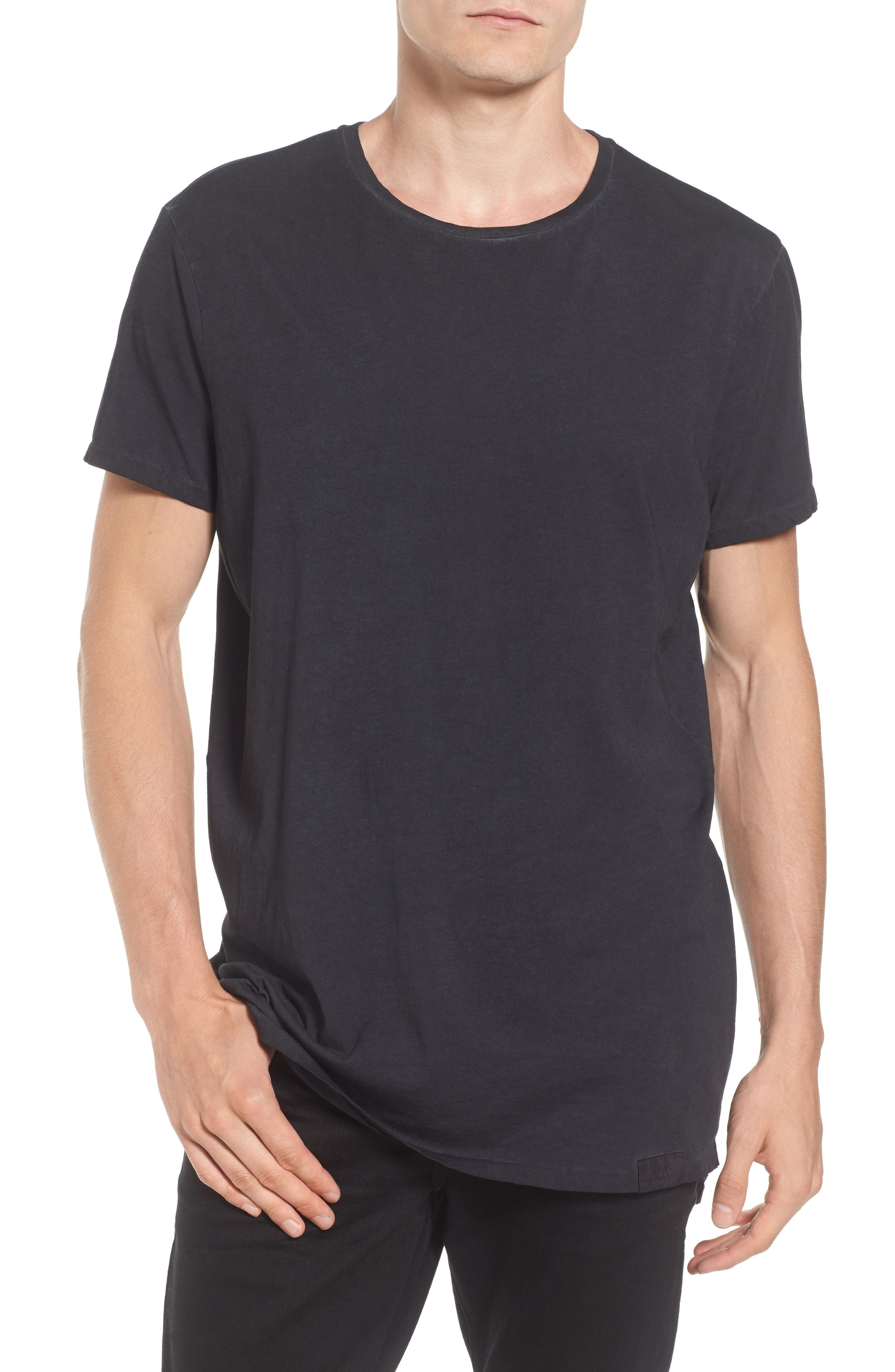 Classic Oil Wash Jersey T-Shirt,                         Main,                         color, 010