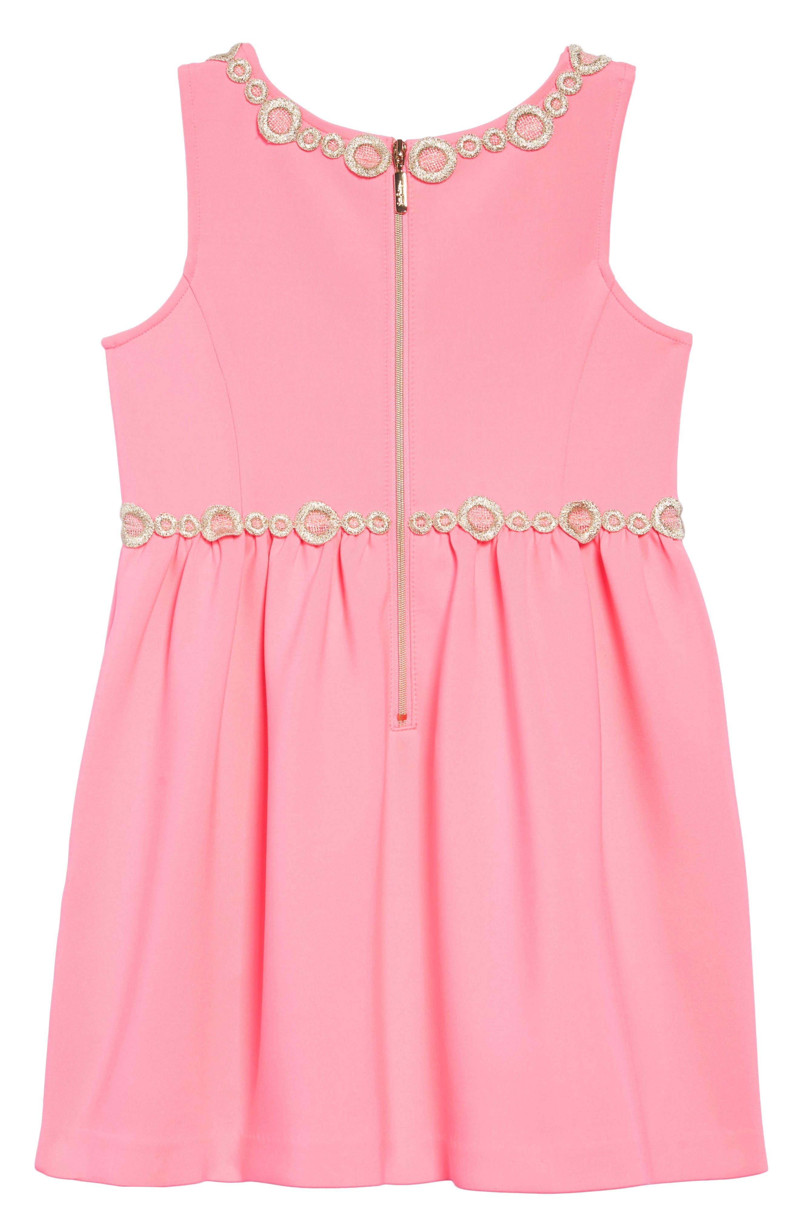 Baylee A-Line Dress,                             Alternate thumbnail 2, color,                             PINK SUNSET