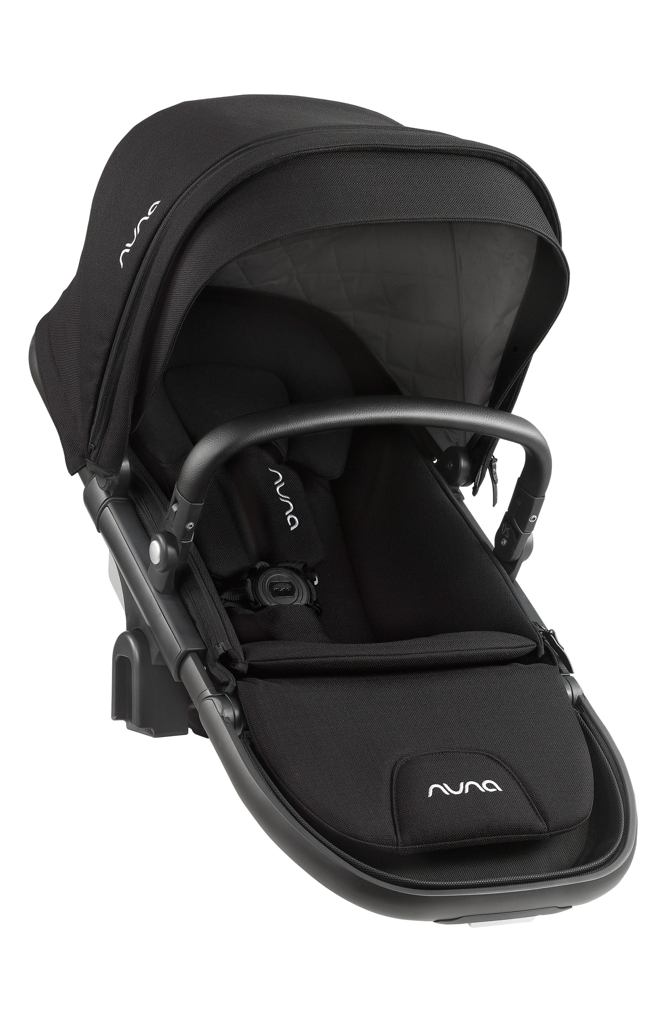 DEMI<sup>™</sup> Grow Sibling Seat Attachment for DEMI Grow Stroller,                             Main thumbnail 1, color,                             CAVIAR