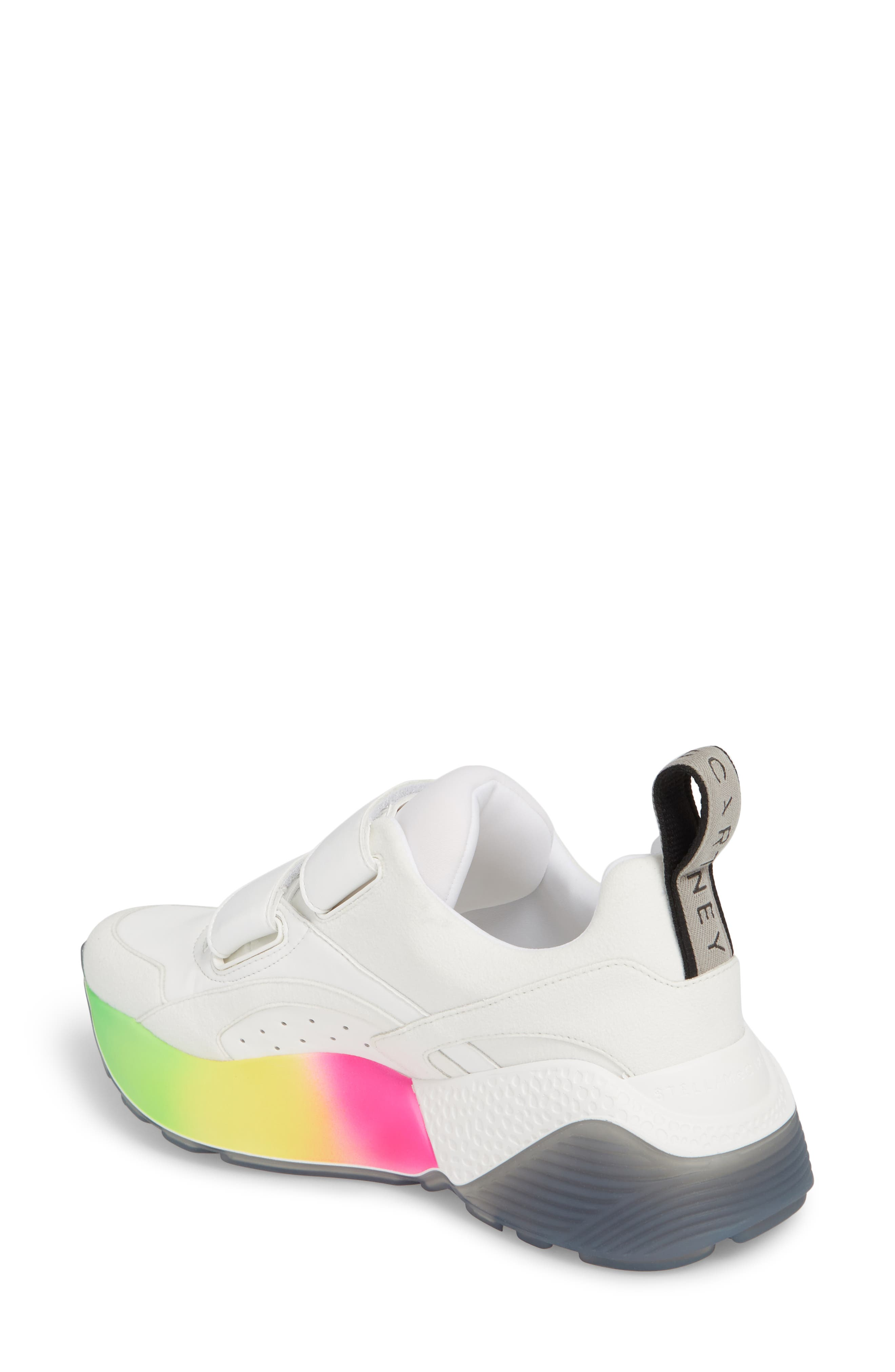 Gradient Sole Sneaker,                             Alternate thumbnail 2, color,                             WHITE
