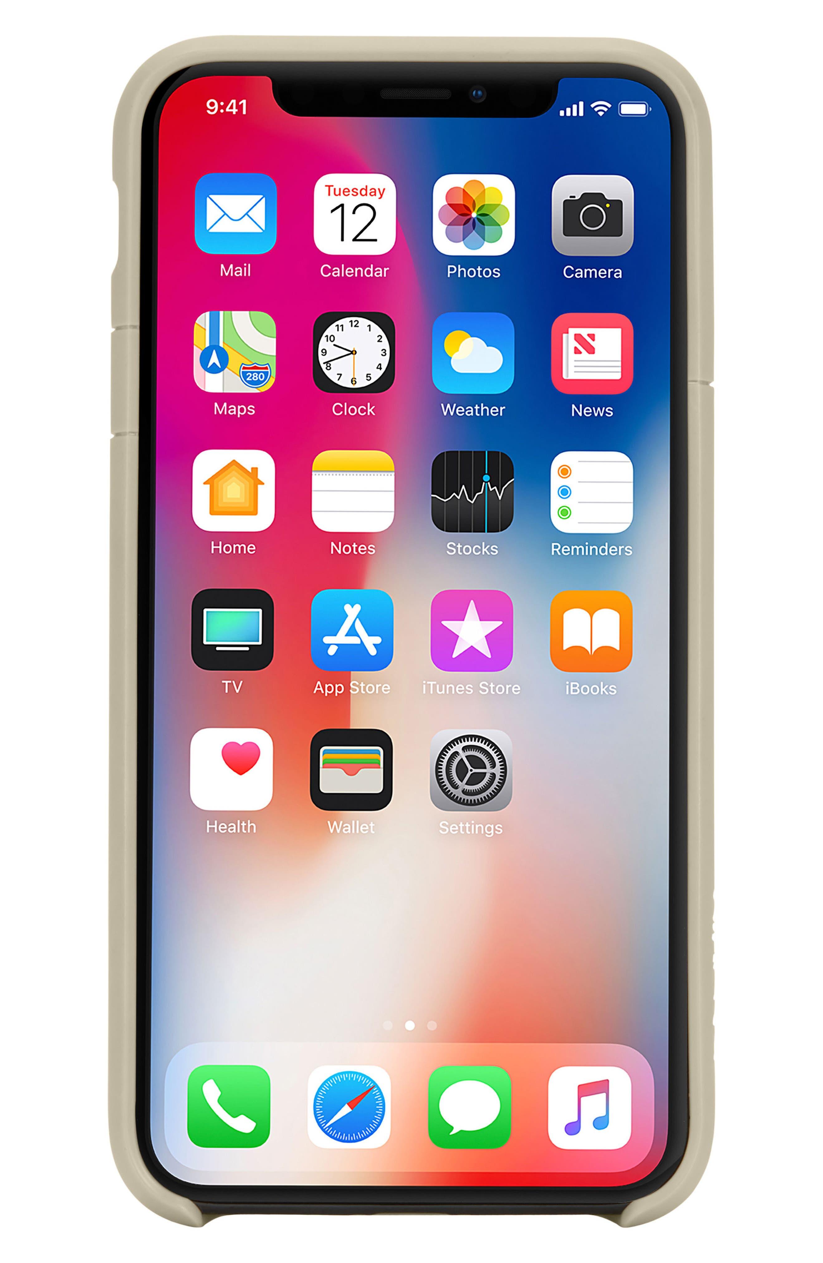 Lite iPhone iPhone X & Xs Case,                             Main thumbnail 5, color,