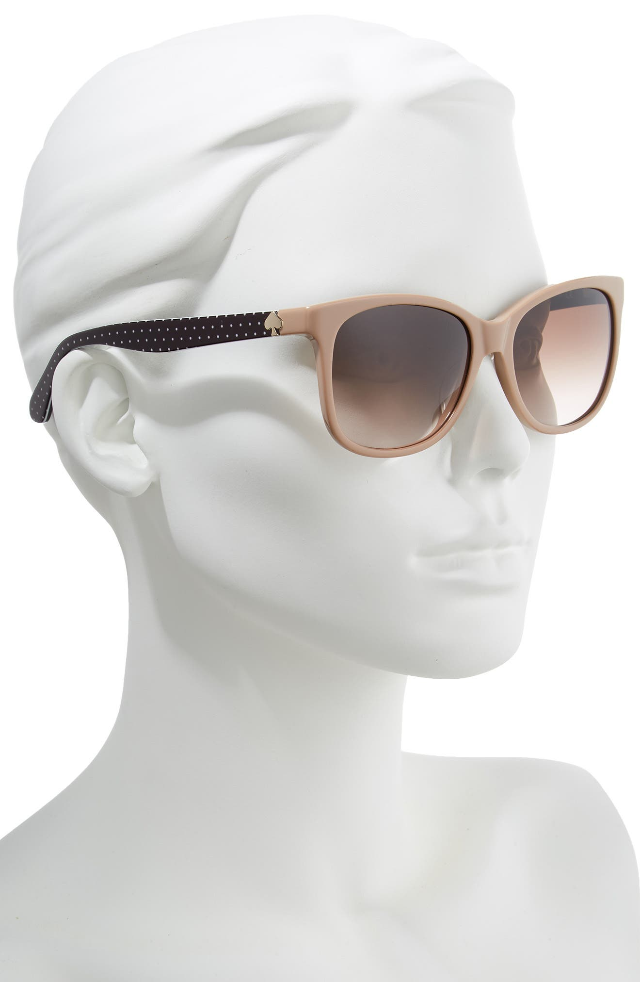 danalyns 54mm sunglasses,                             Alternate thumbnail 2, color,                             NUDE
