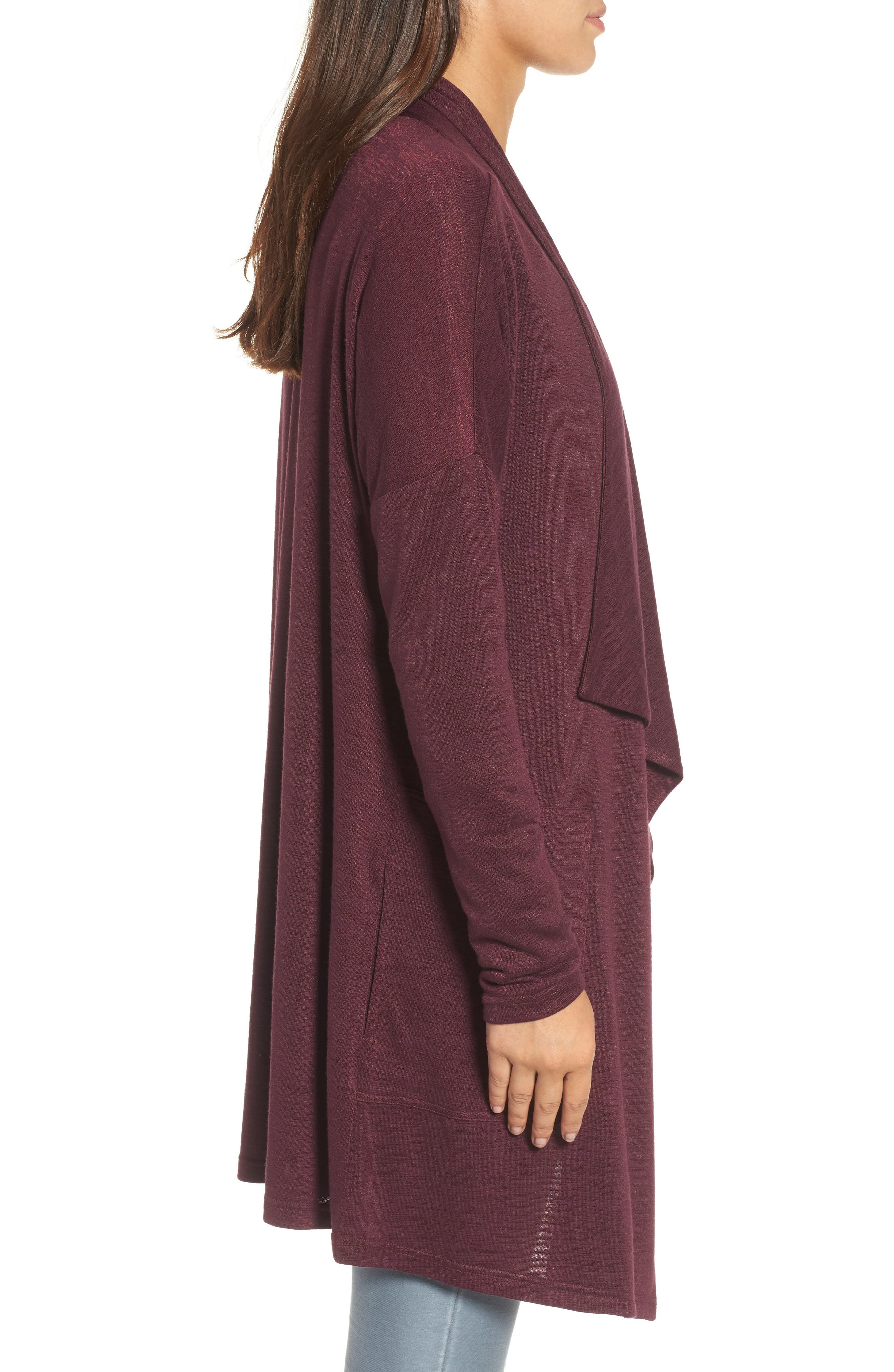 Every Occasion Drape Front Jacket,                             Alternate thumbnail 12, color,