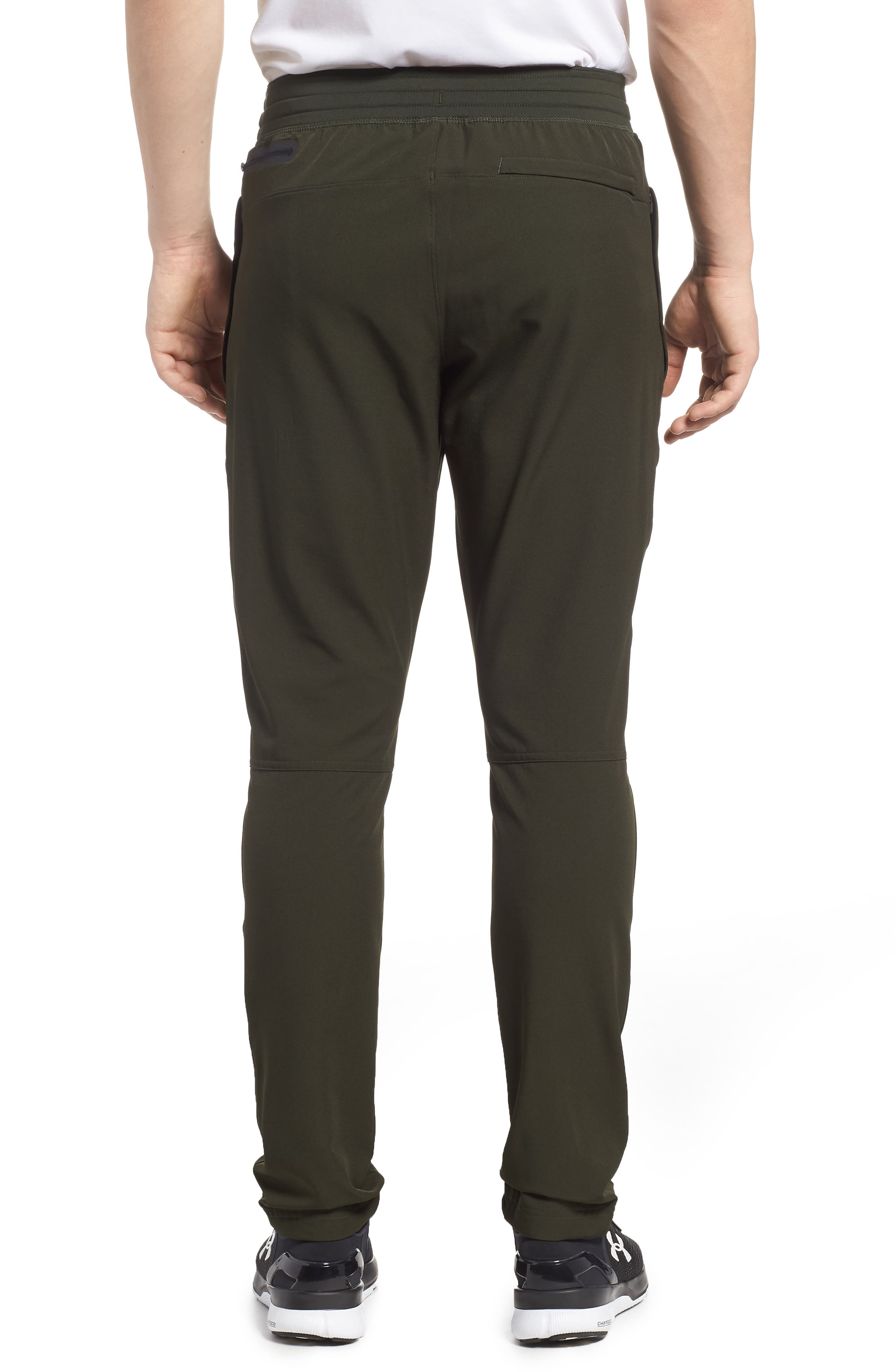 Fitted Woven Training Pants,                             Alternate thumbnail 11, color,