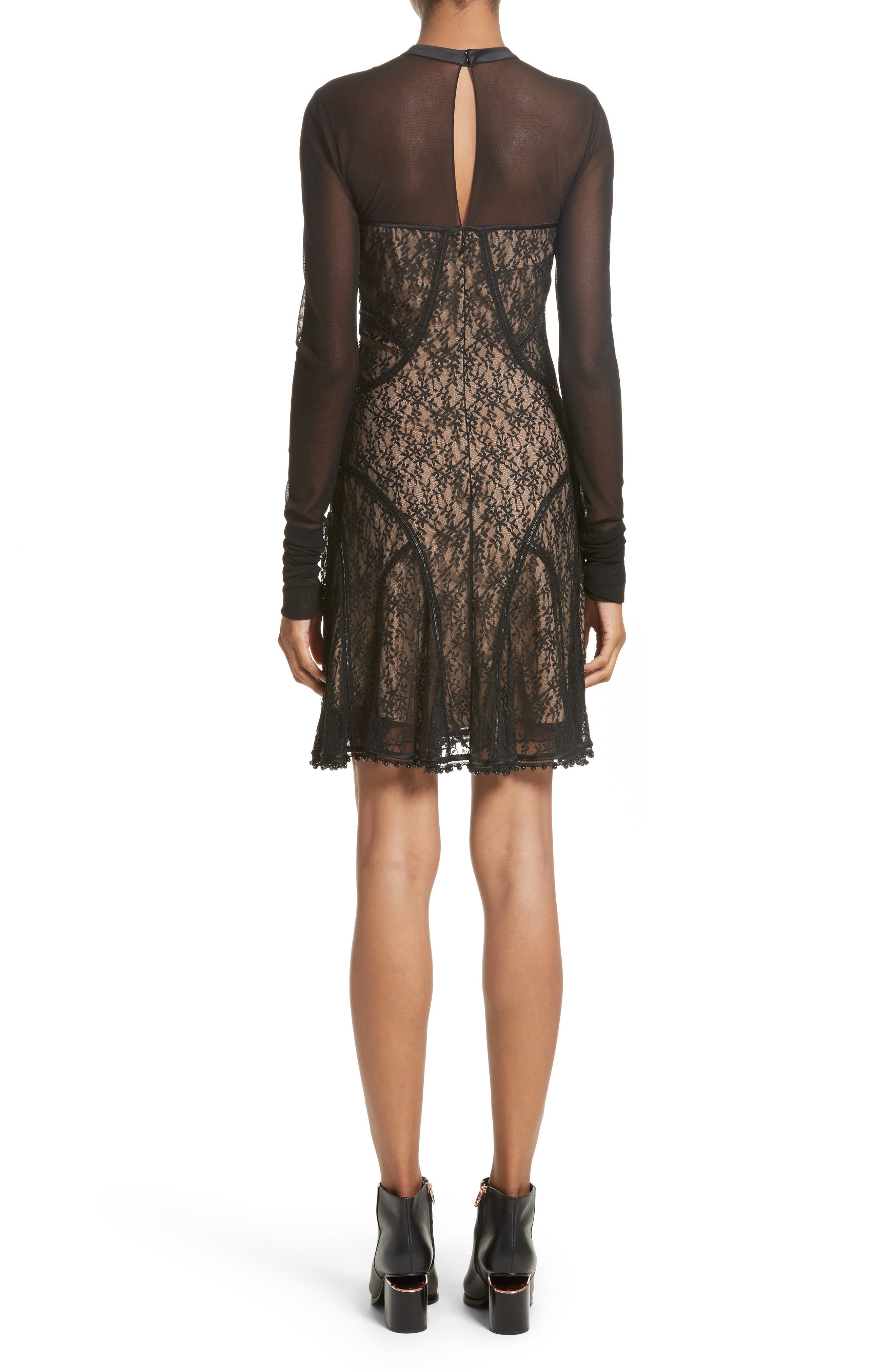 Lace Dress,                             Alternate thumbnail 2, color,