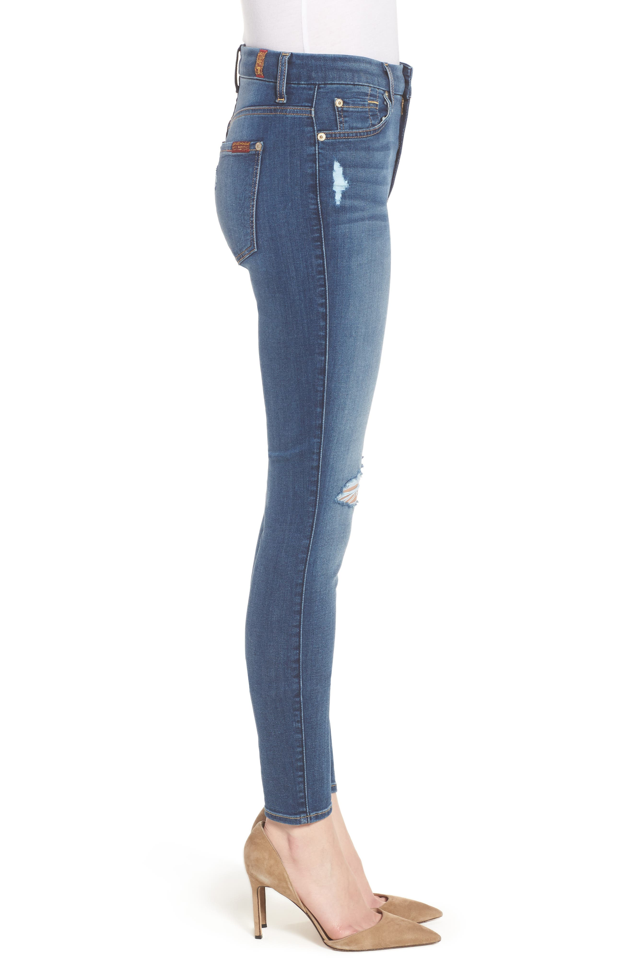 'b(air) - The Ankle' Skinny Jeans,                             Alternate thumbnail 13, color,