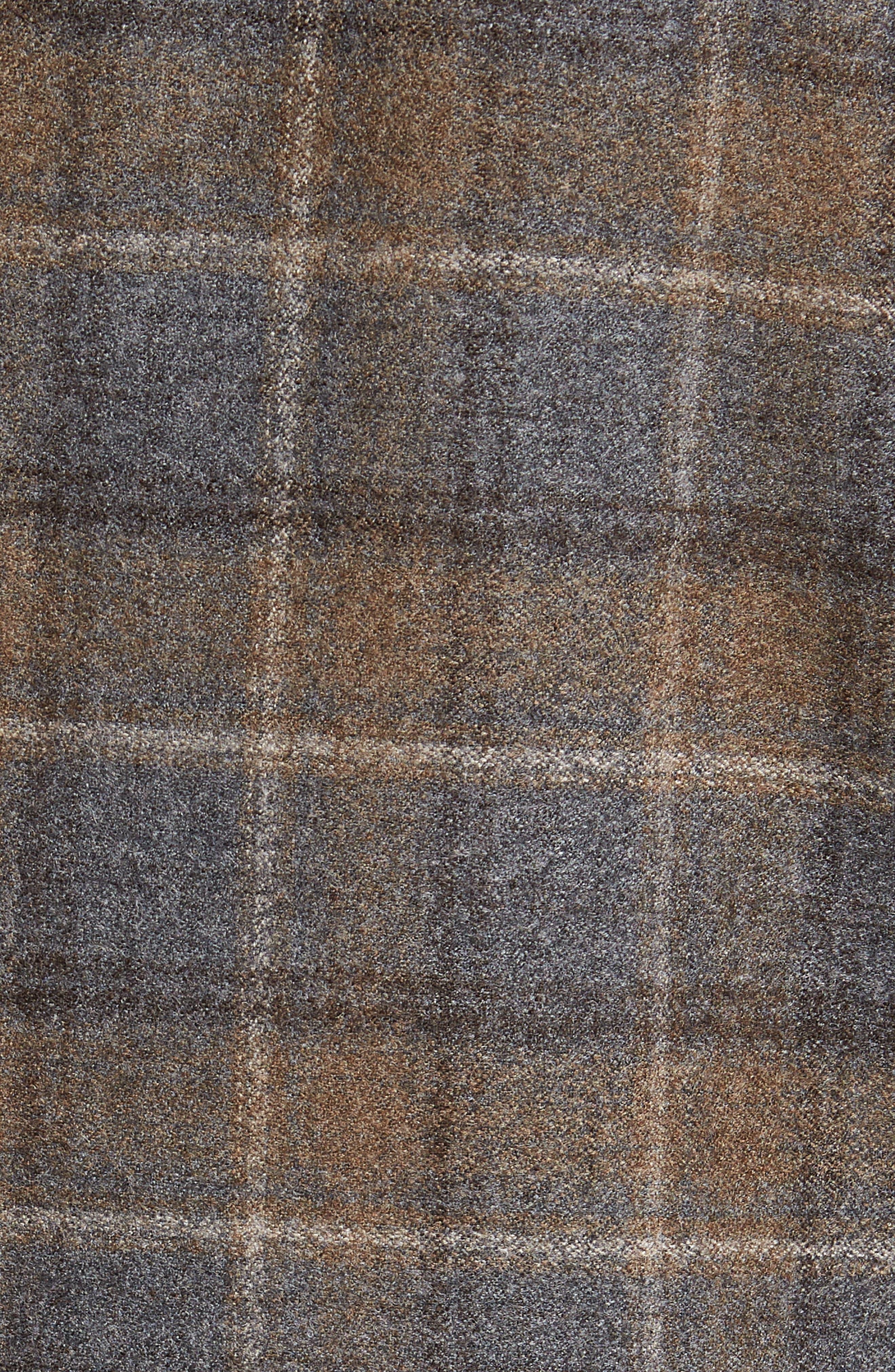 HART SCHAFFNER MARX,                             Classic Fit Plaid Wool Sport Coat,                             Alternate thumbnail 6, color,                             BROWN