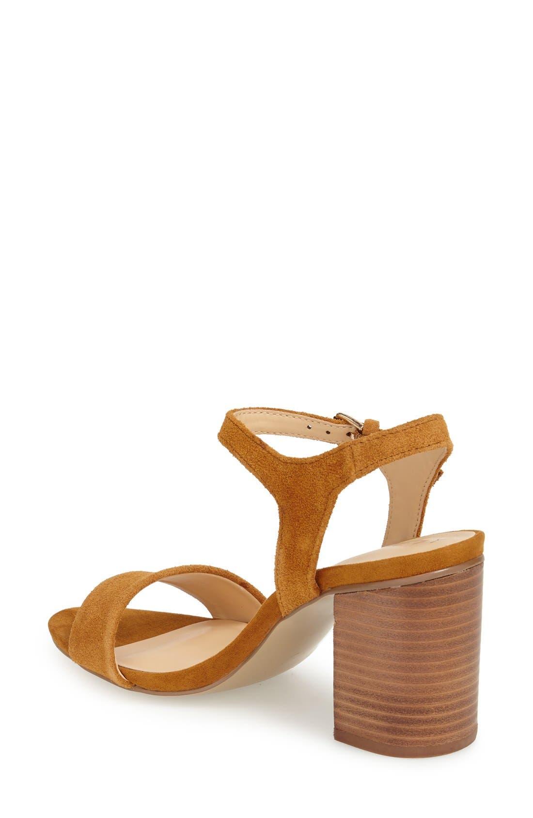'Linny' Ankle Strap Sandal,                             Alternate thumbnail 19, color,
