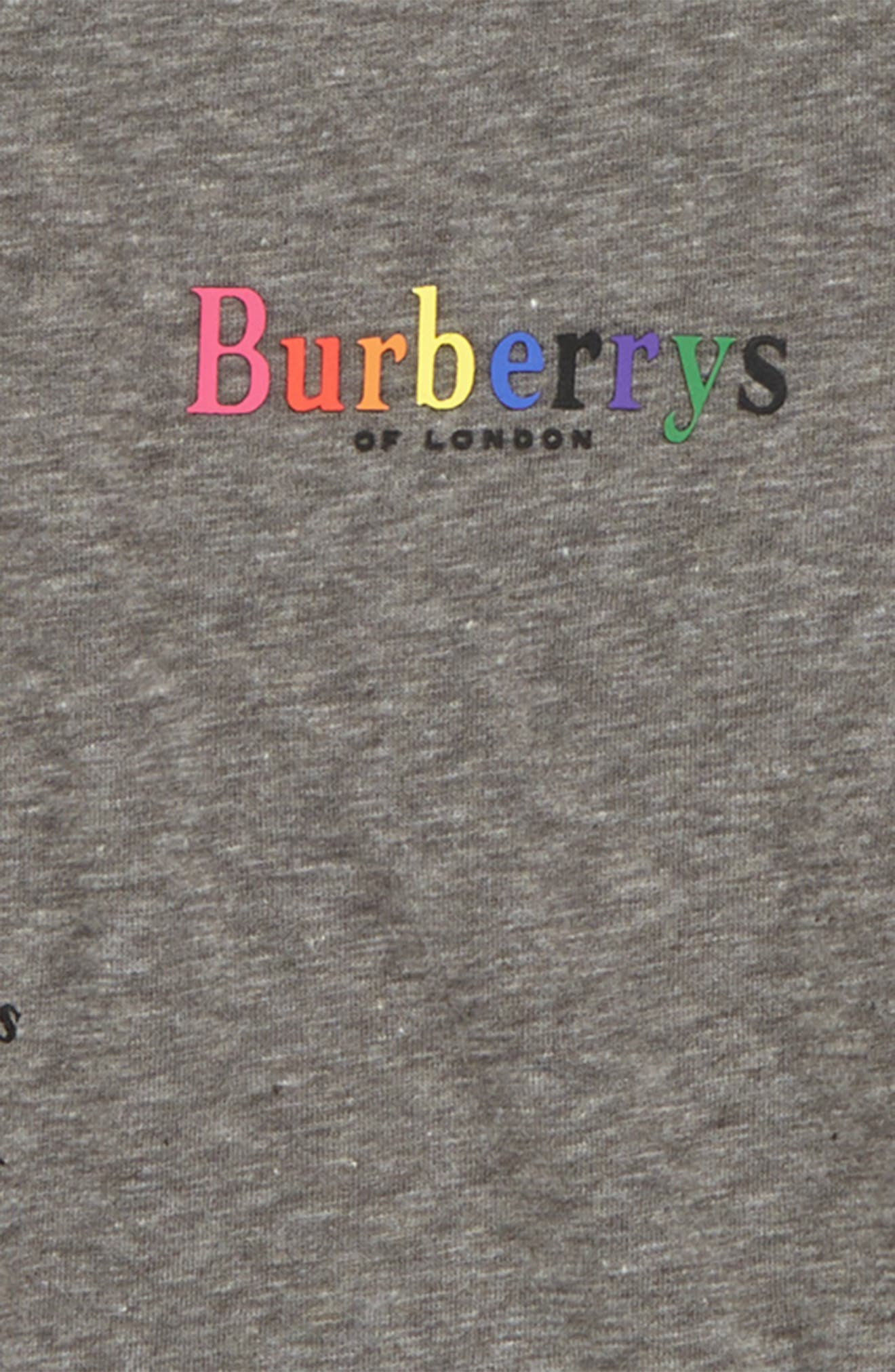 Logo T-Shirt,                             Alternate thumbnail 2, color,                             GREY MELANGE