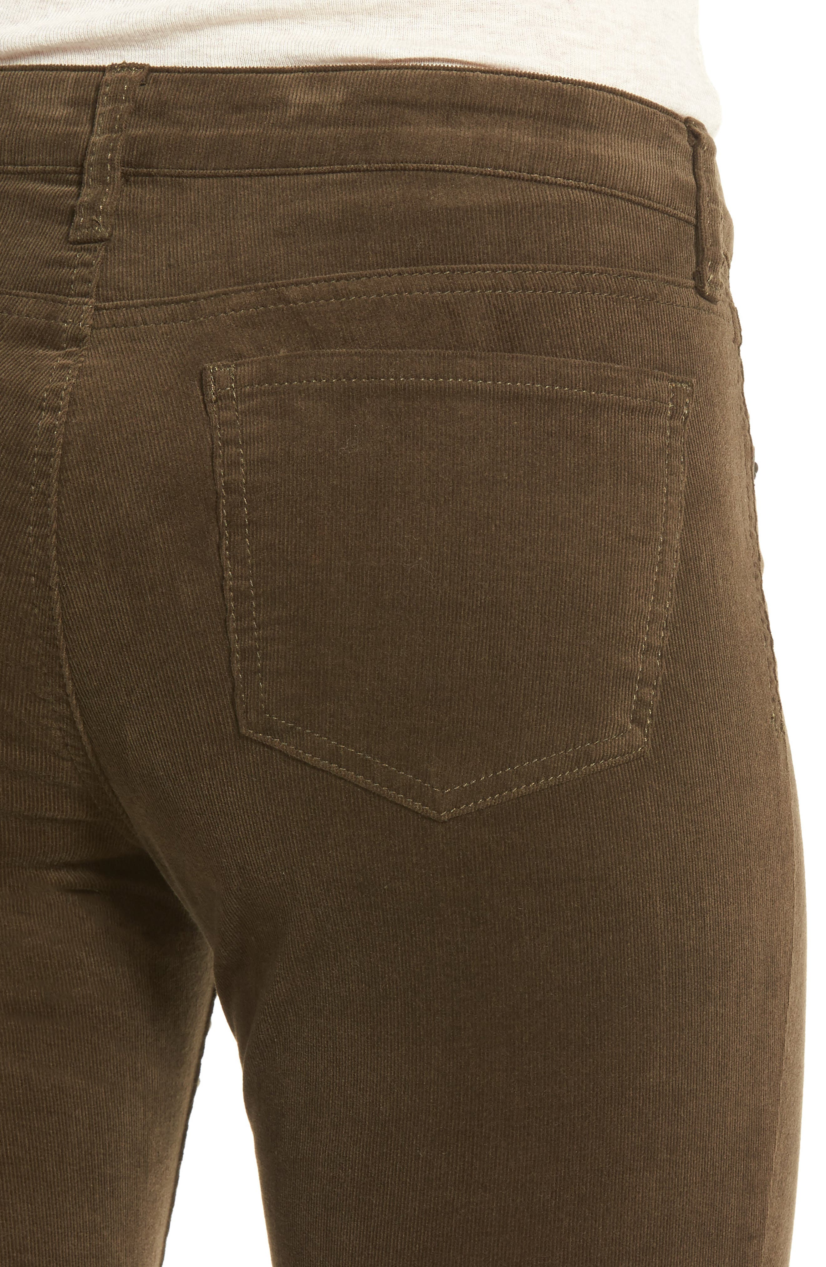 'Diana' Stretch Corduroy Skinny Pants,                             Alternate thumbnail 63, color,
