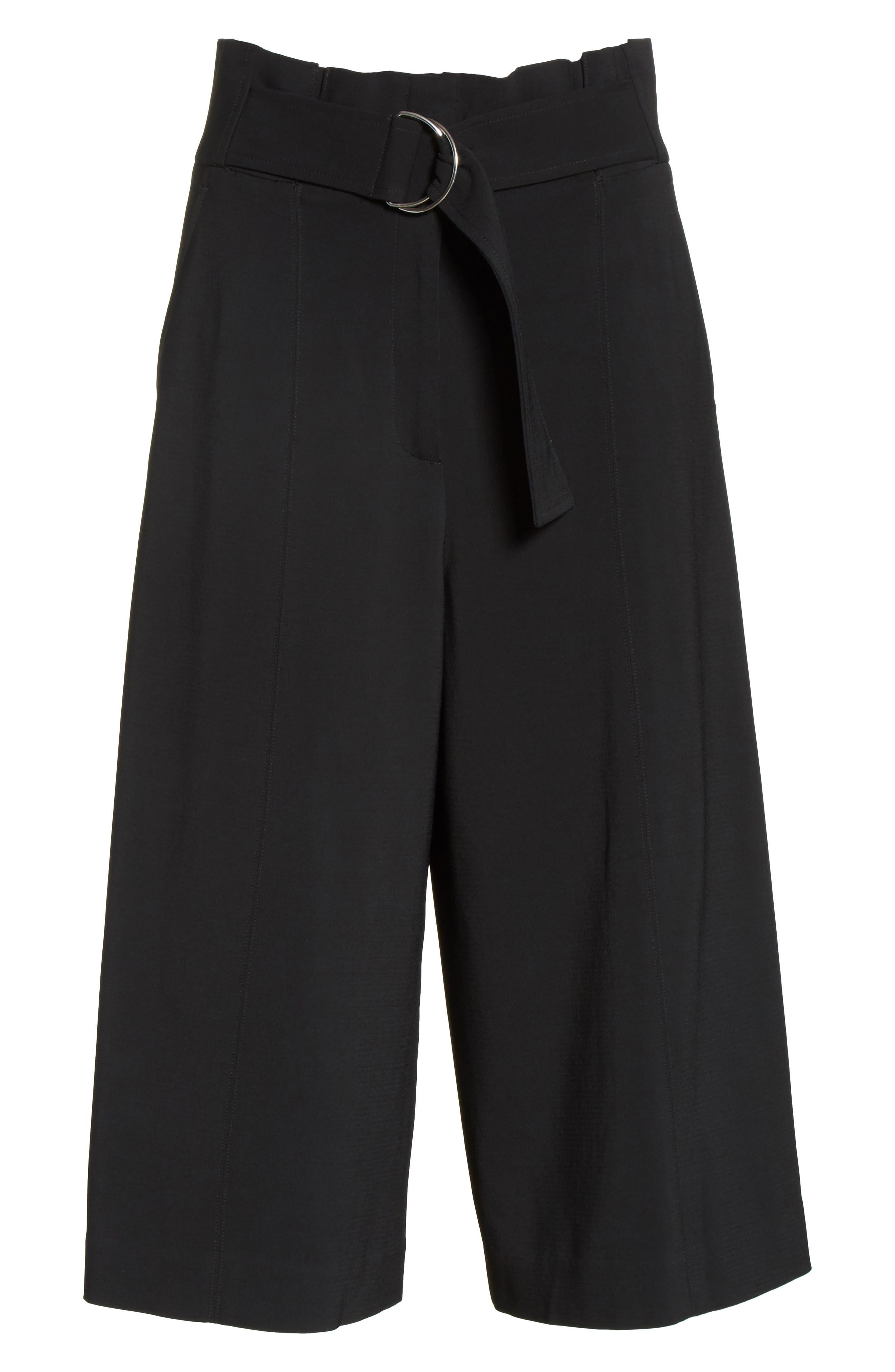 Jayden High Rise Cady Crop Pants,                             Alternate thumbnail 6, color,