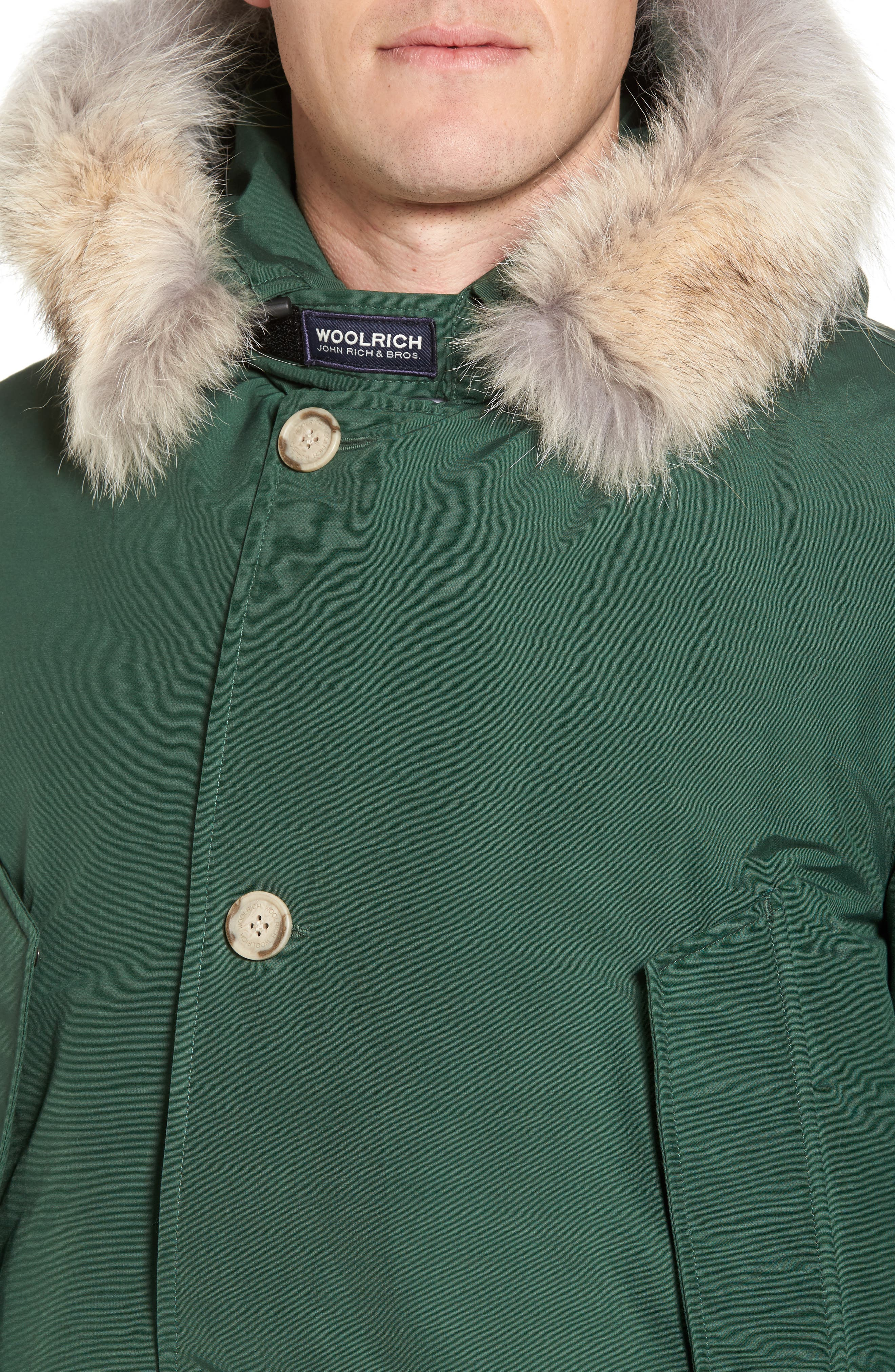 John Rich & Bros. Arctic Parka with Genuine Coyote Fur Trim,                             Alternate thumbnail 22, color,