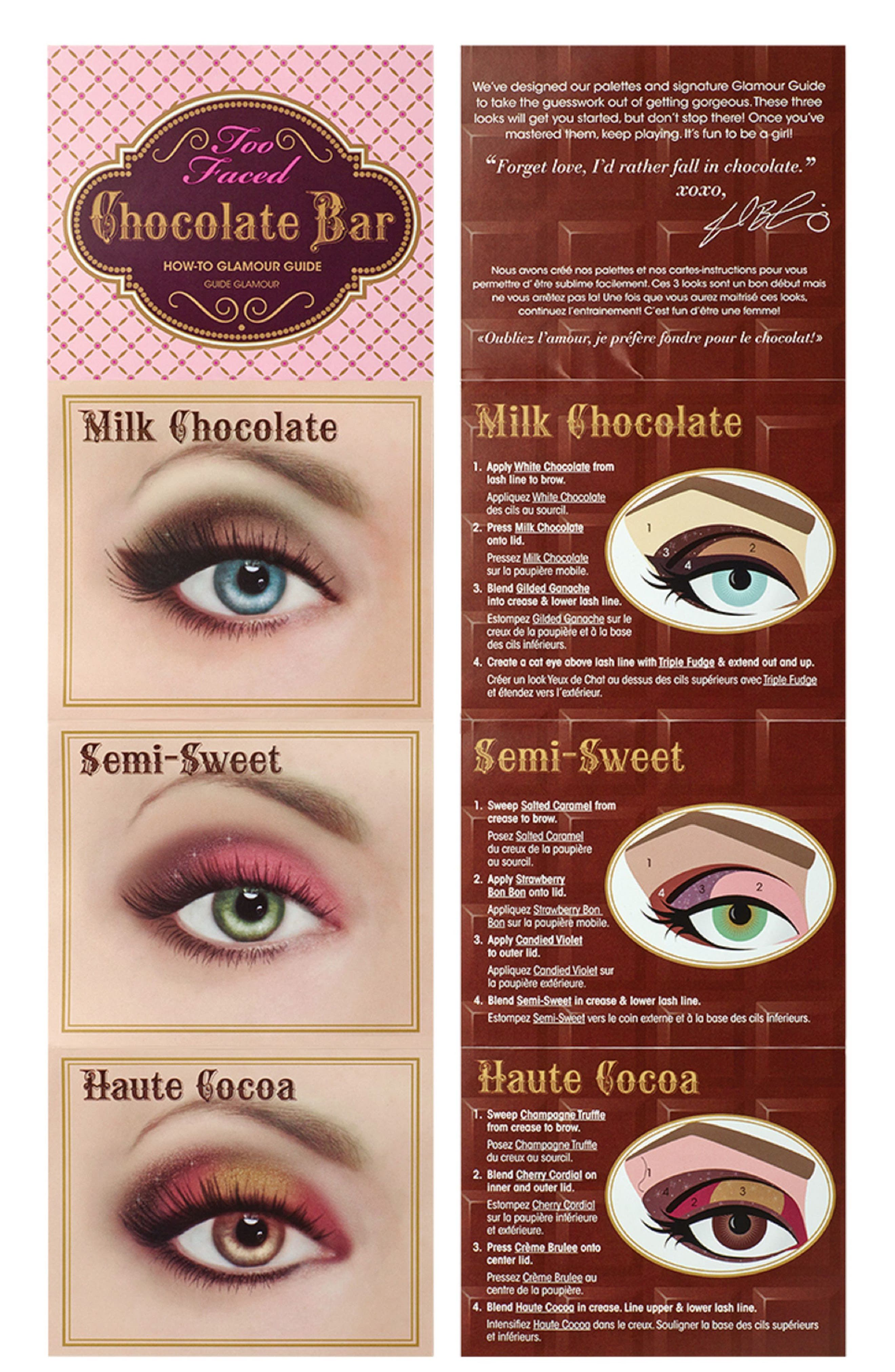 Chocolate Bar Eyeshadow Palette,                             Alternate thumbnail 3, color,                             NO COLOR