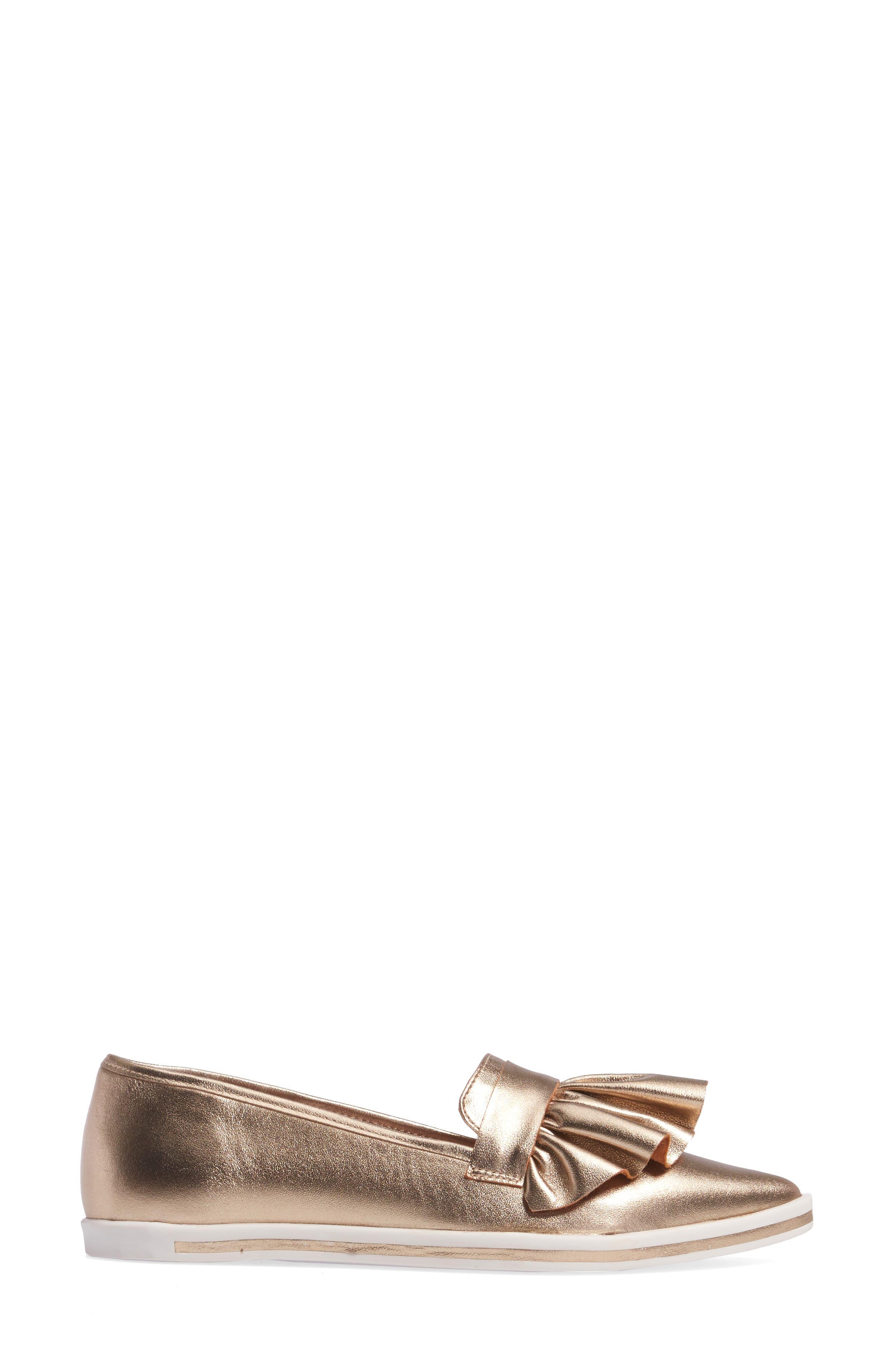 Taraji Ruffle Slip-On Sneaker,                             Alternate thumbnail 11, color,