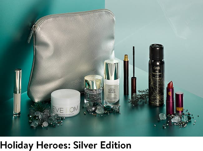SPACE.NK.apothecary Holiday Heroes: Silver Edition.