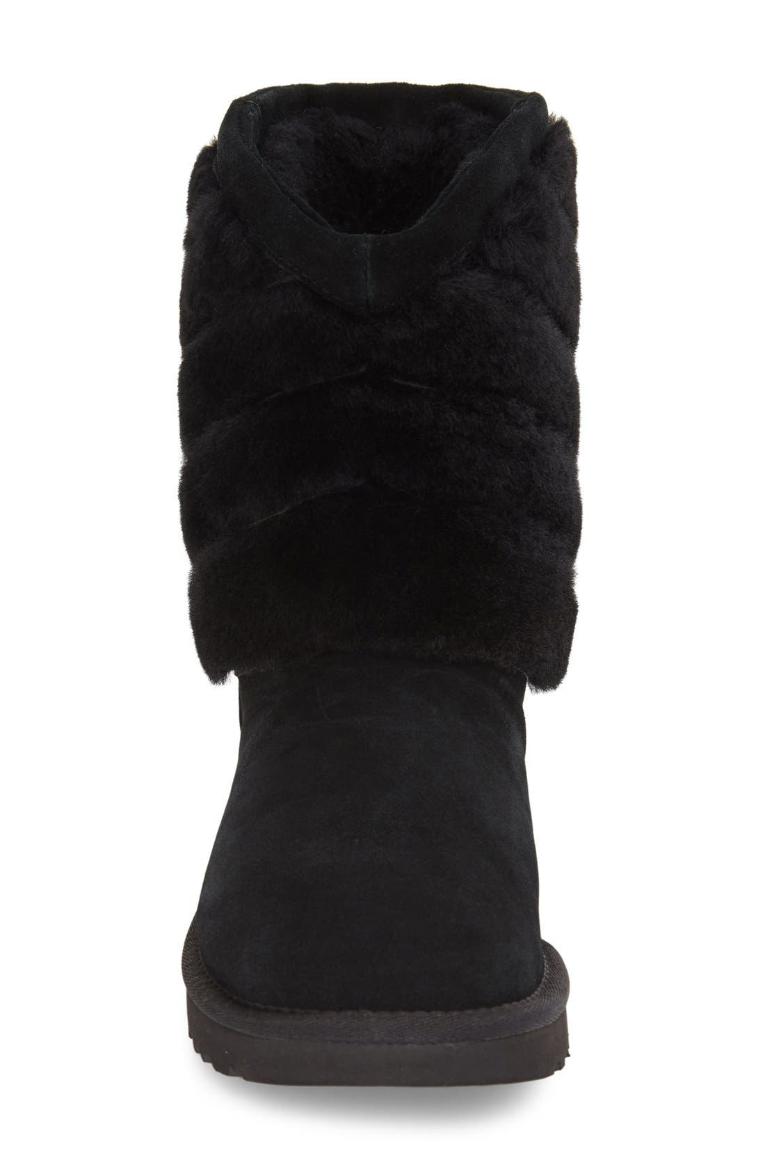 UGG<SUP>®</SUP>,                             Tania Genuine Shearling Boot,                             Alternate thumbnail 2, color,                             001