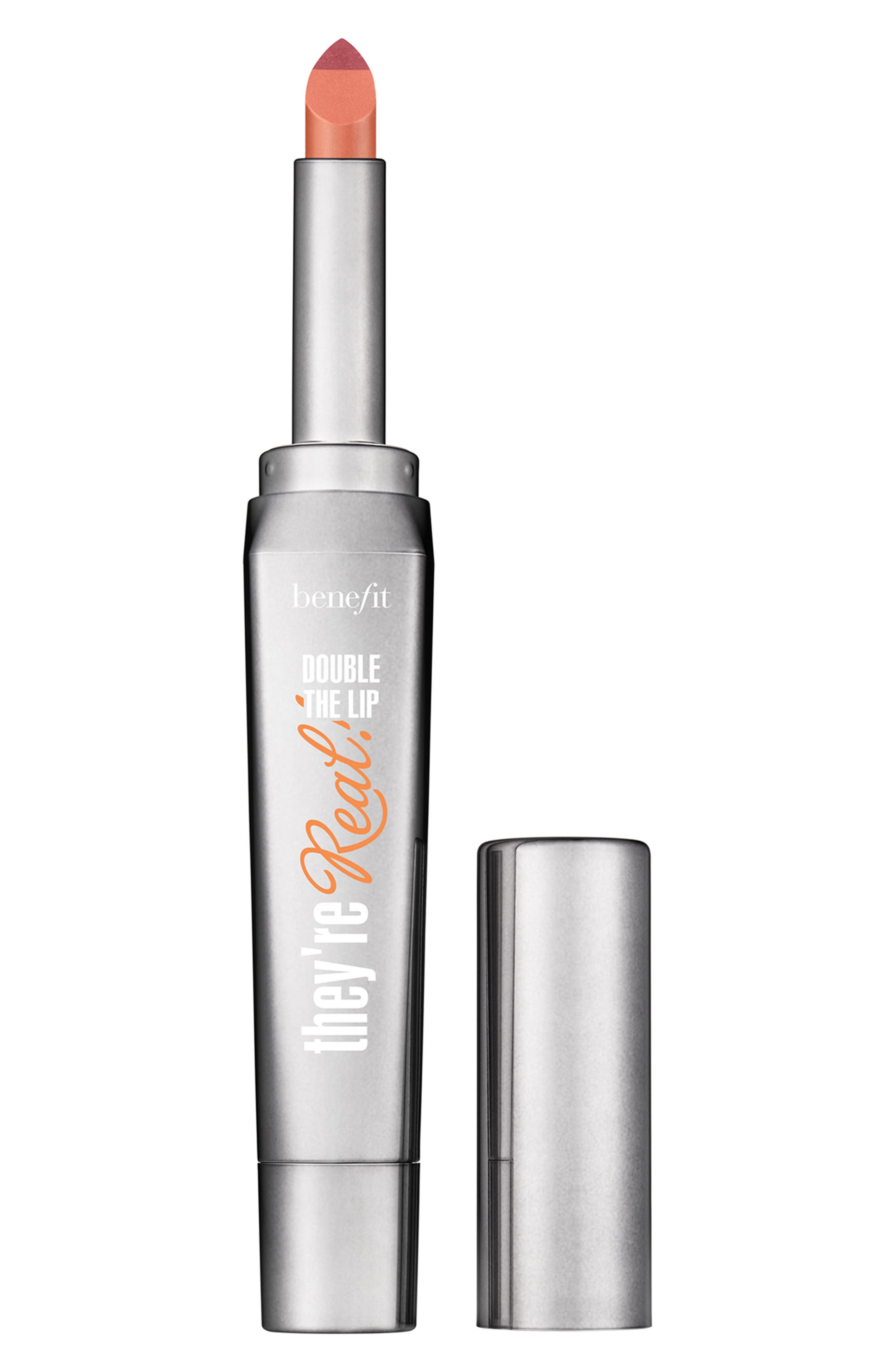 Benefit They're Real! Double the Lip Lipstick & Liner in One,                             Main thumbnail 1, color,                             BARE AFFAIR