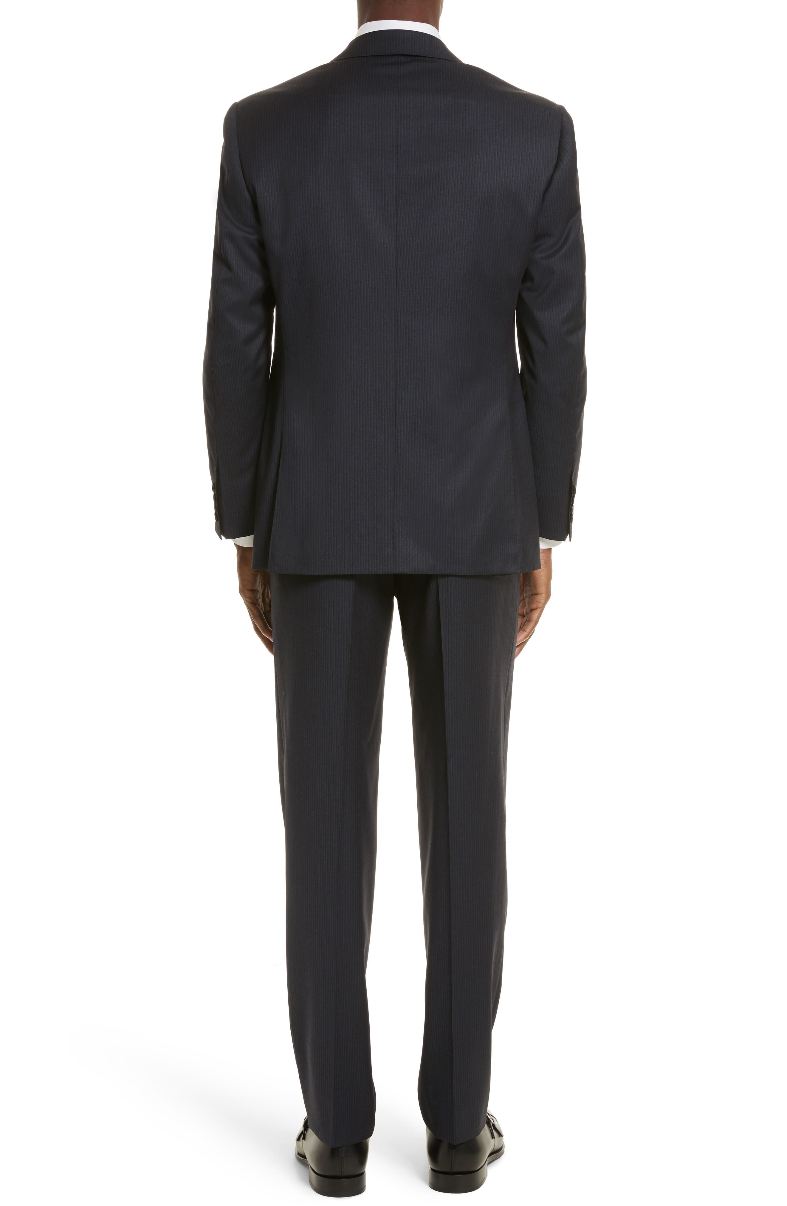 Classic Fit Stripe Wool Suit,                             Alternate thumbnail 2, color,                             400