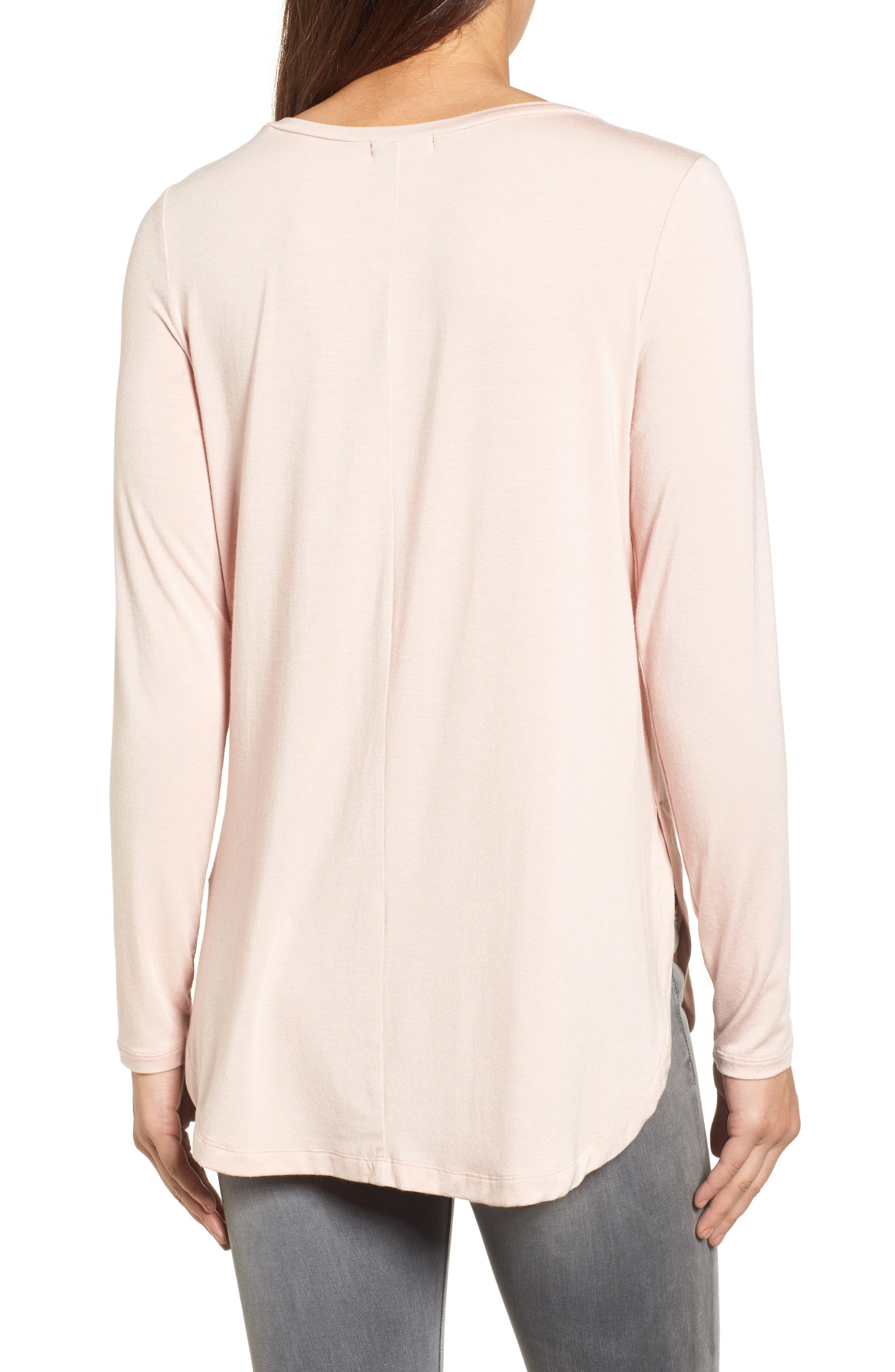 Long Sleeve Knit Tunic,                             Alternate thumbnail 2, color,                             680