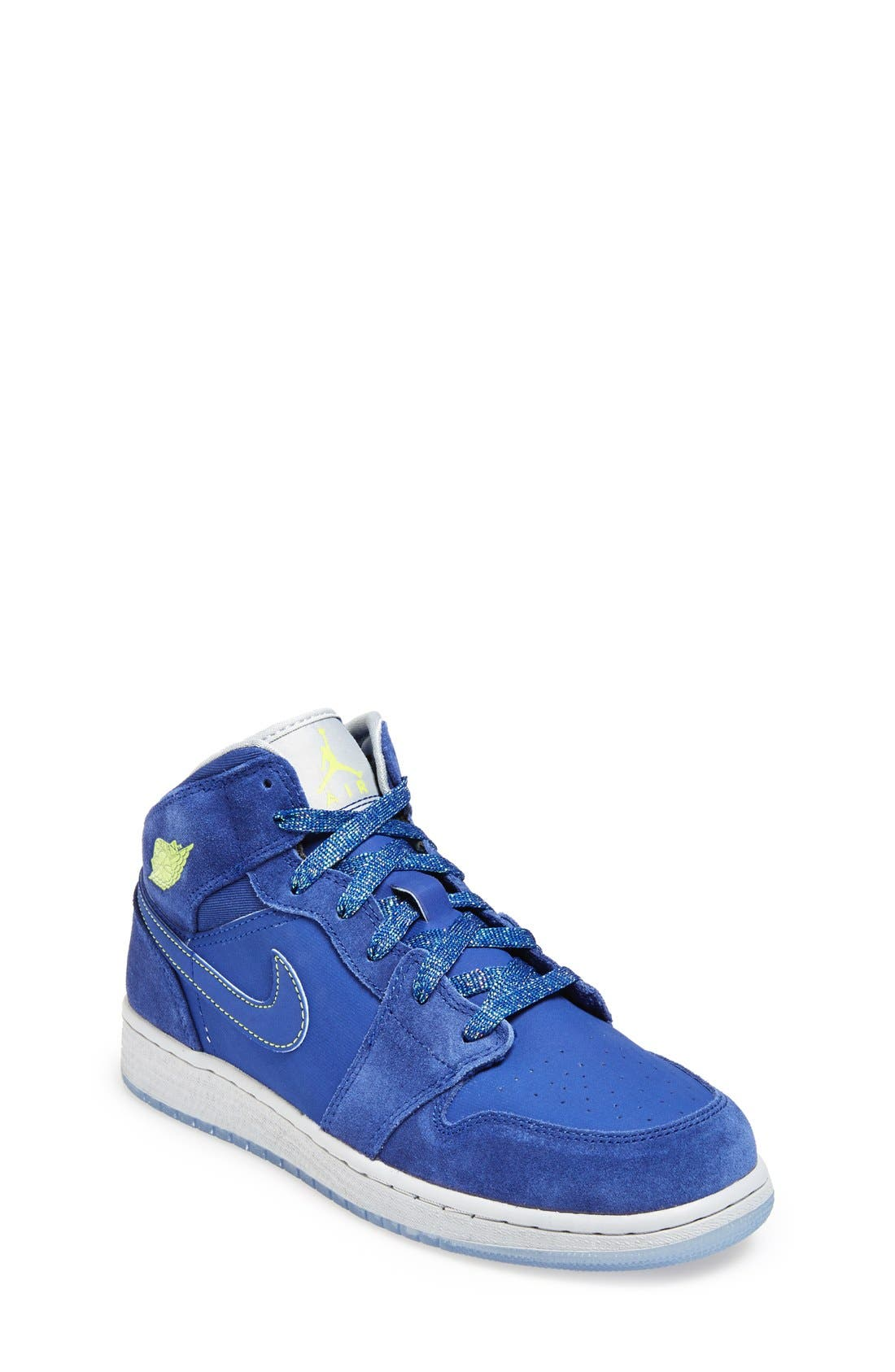 Nike 'Air Jordan 1 Mid' Sneaker,                             Main thumbnail 4, color,