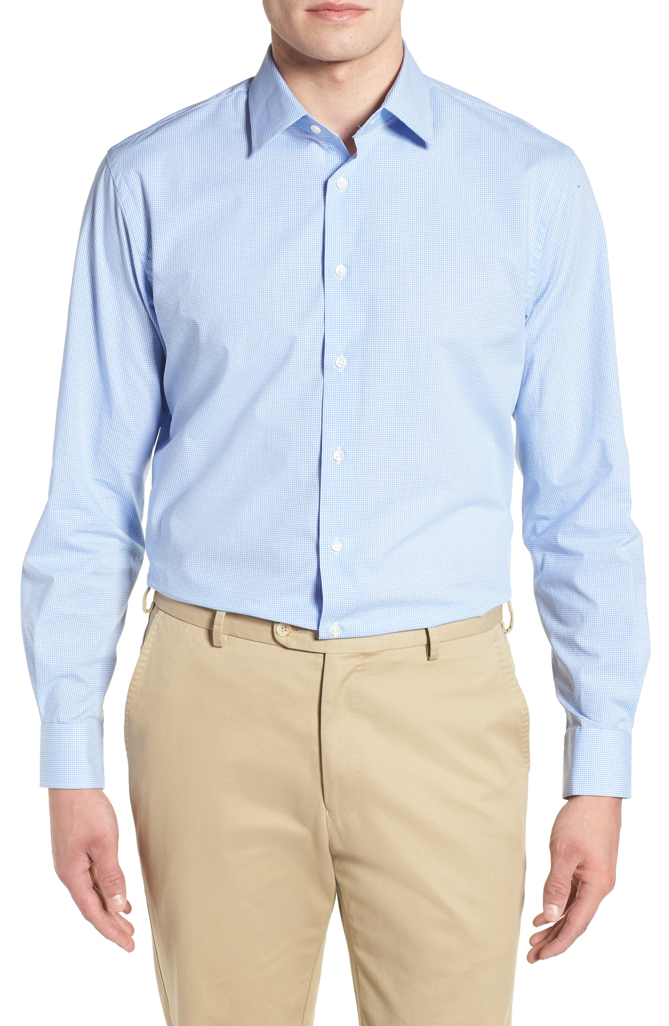 Traditional Fit Check Dress Shirt,                         Main,                         color, 450