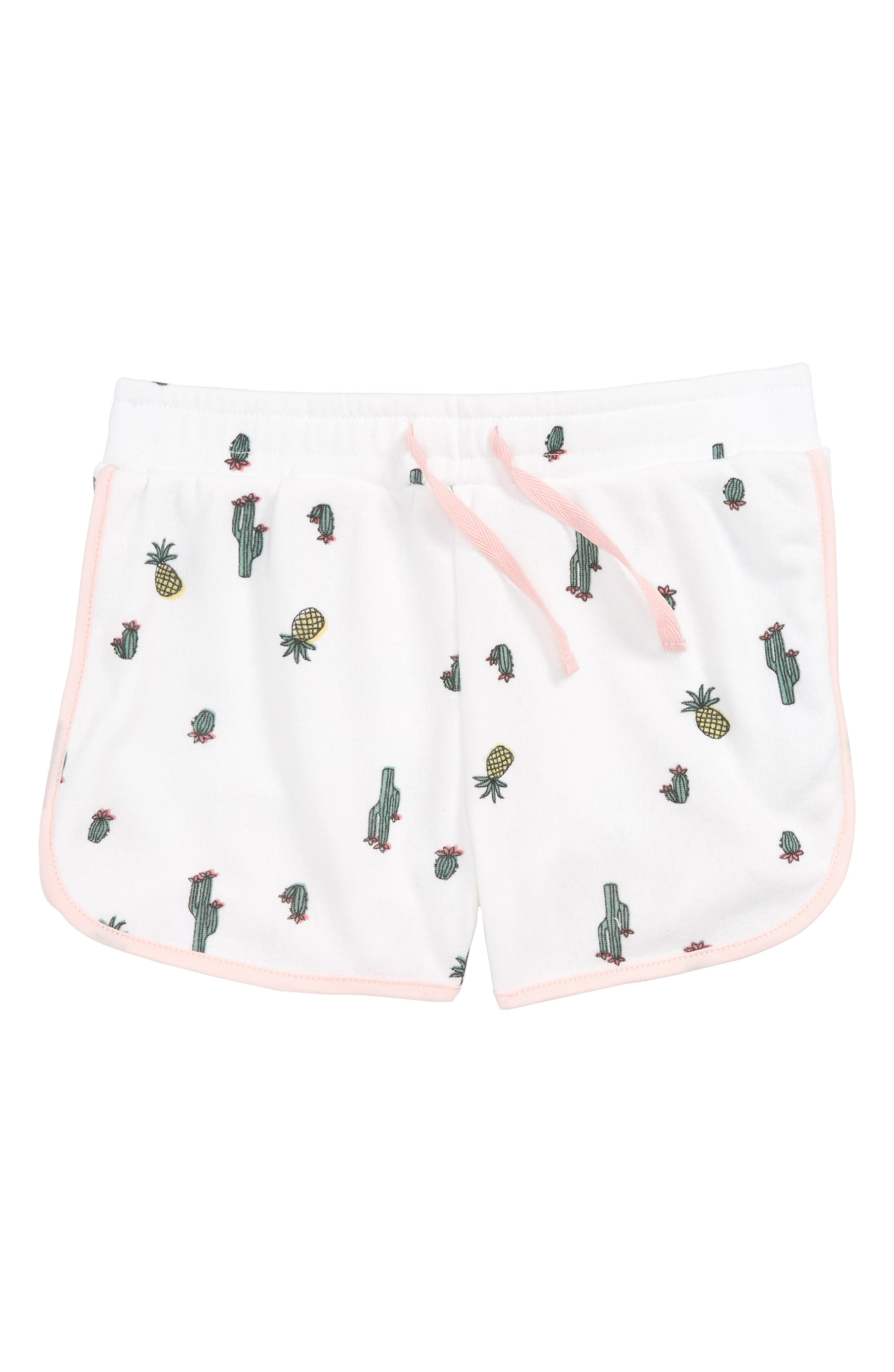Knit Shorts,                         Main,                         color, 100