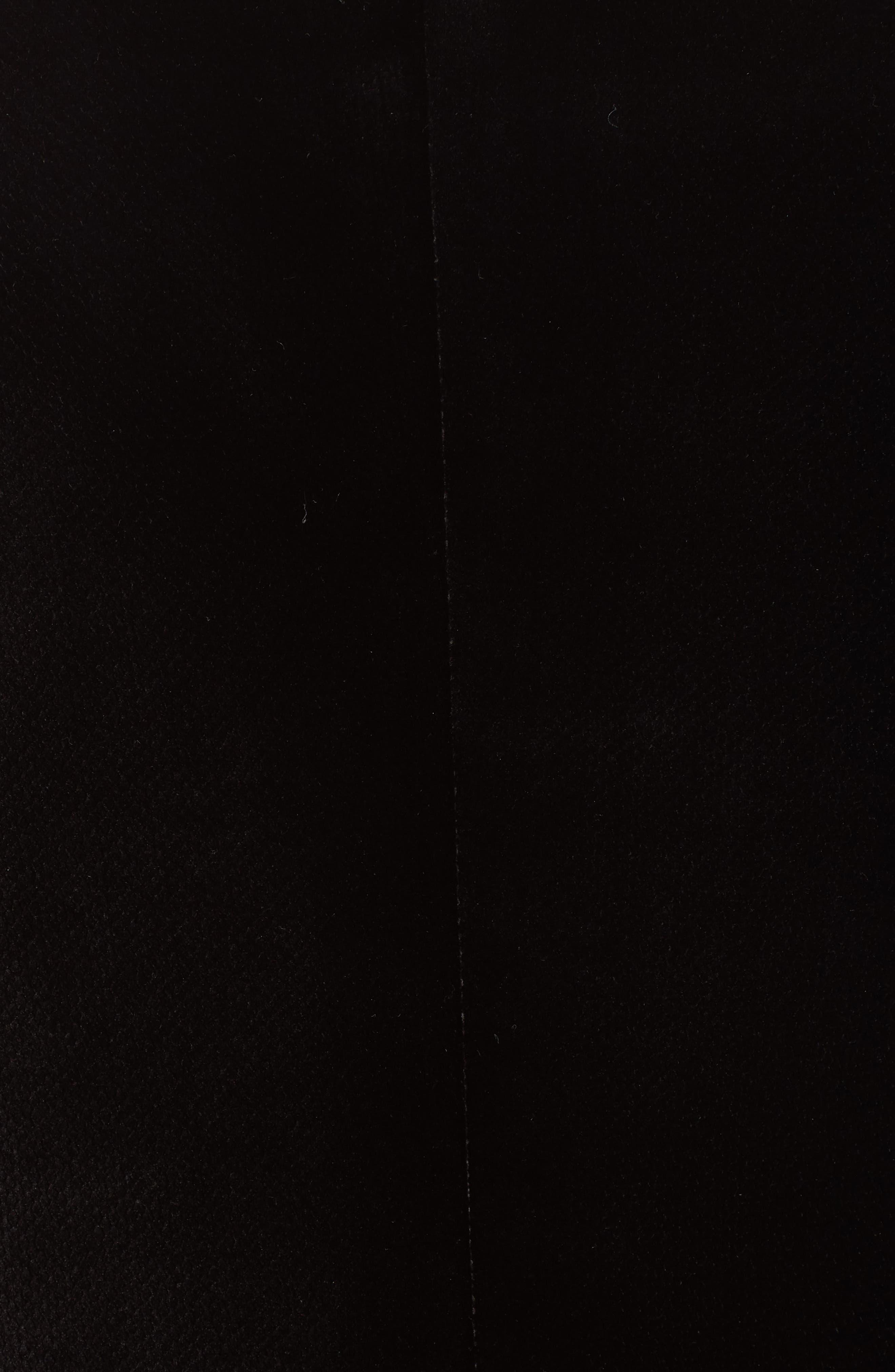 G-Line Trim Fit Velvet Blazer,                             Alternate thumbnail 6, color,                             BLACK