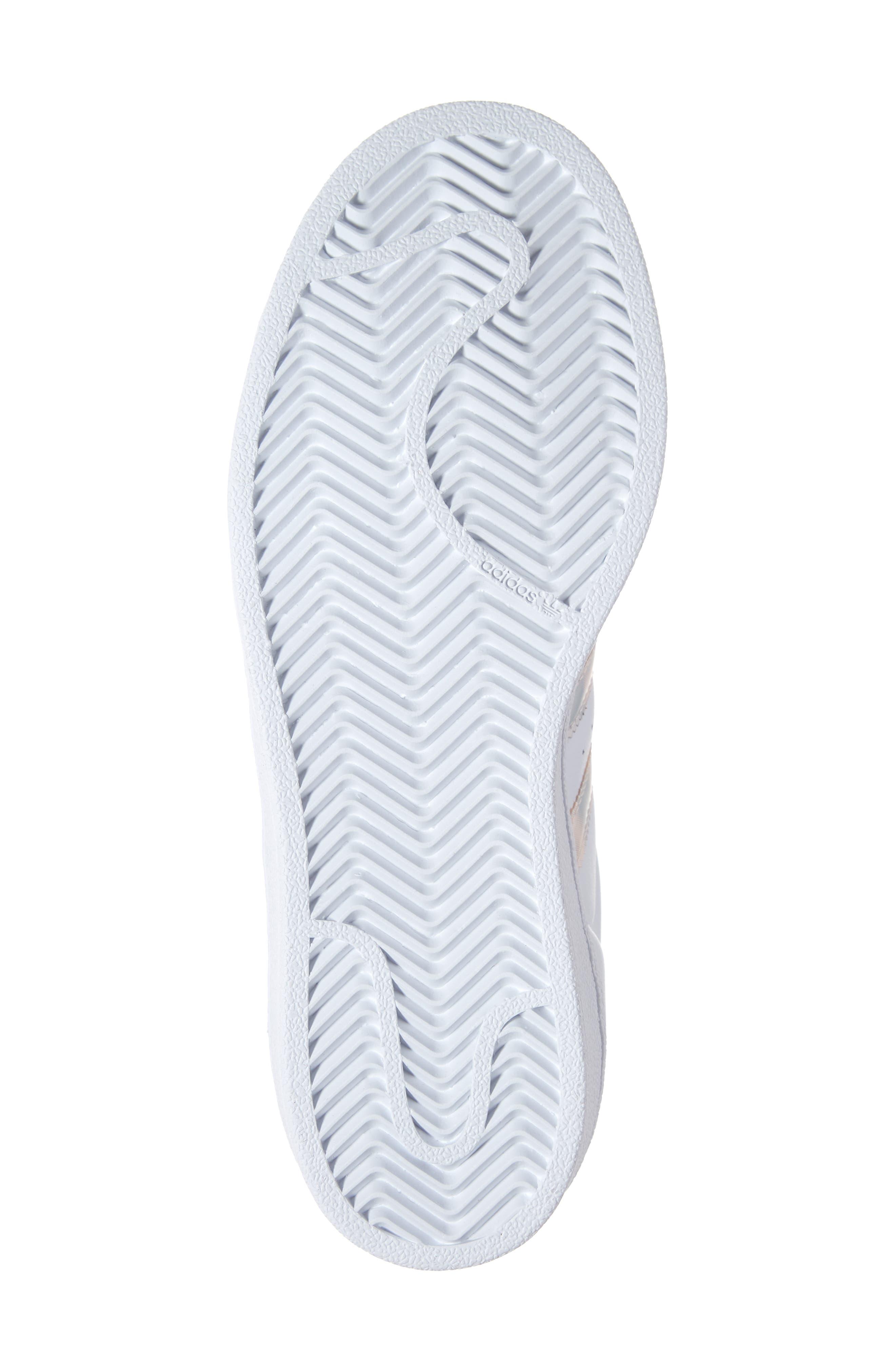 'Superstar II' Sneaker,                             Alternate thumbnail 6, color,                             FTWR WHITE