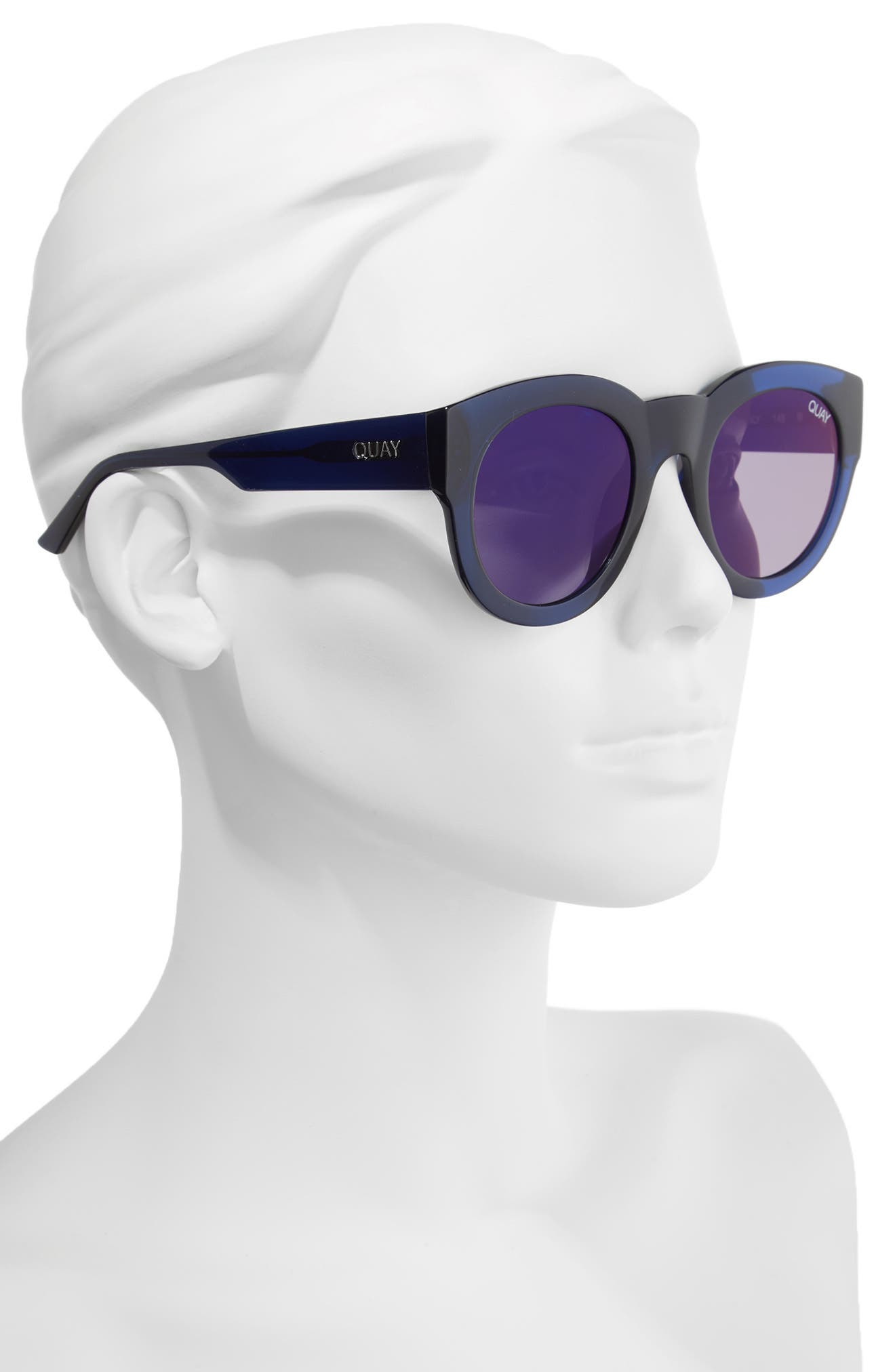 If Only 50mm Round Sunglasses,                             Alternate thumbnail 5, color,