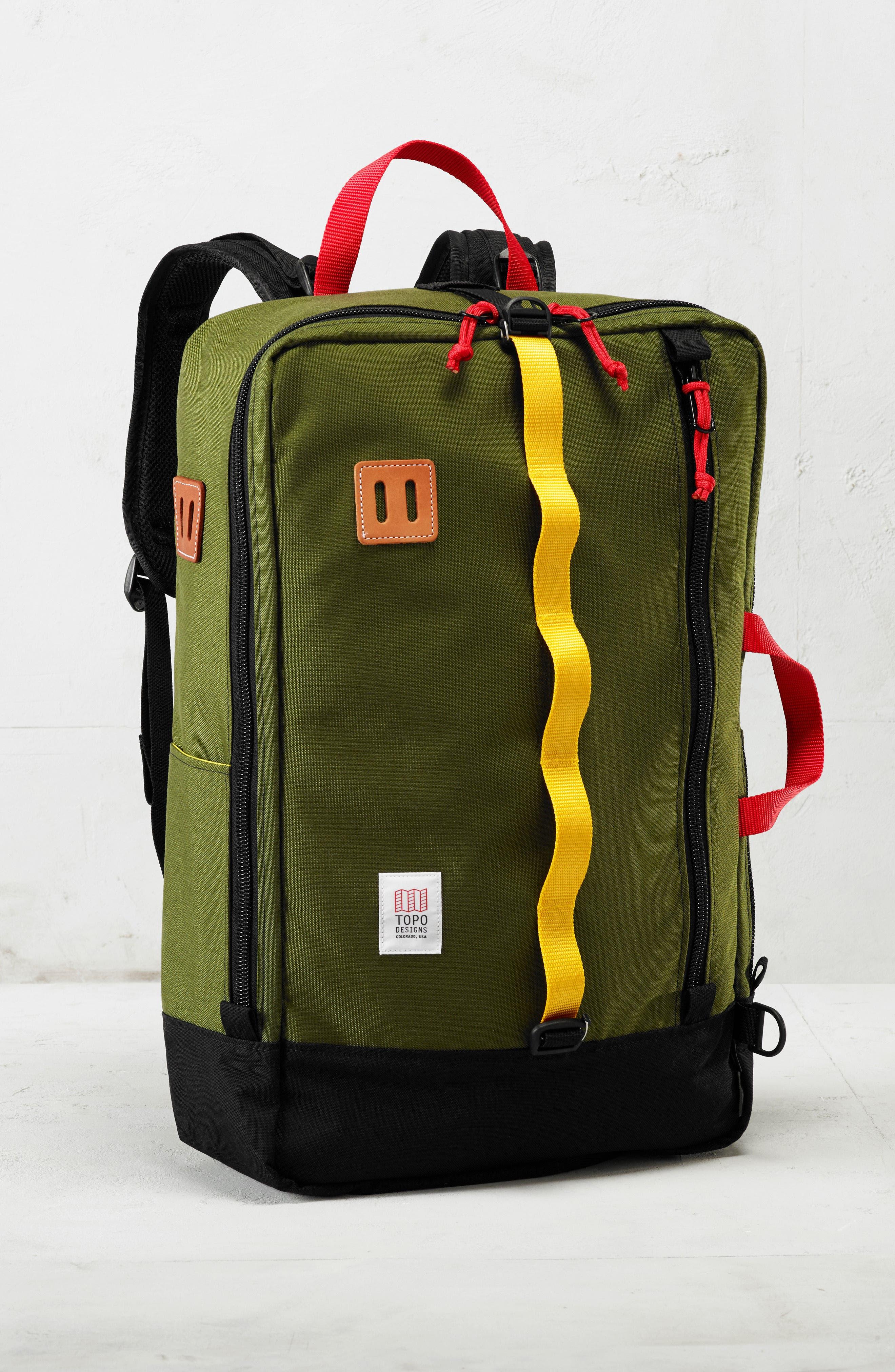 Travel Backpack,                             Alternate thumbnail 7, color,                             BALLISTIC BLACK