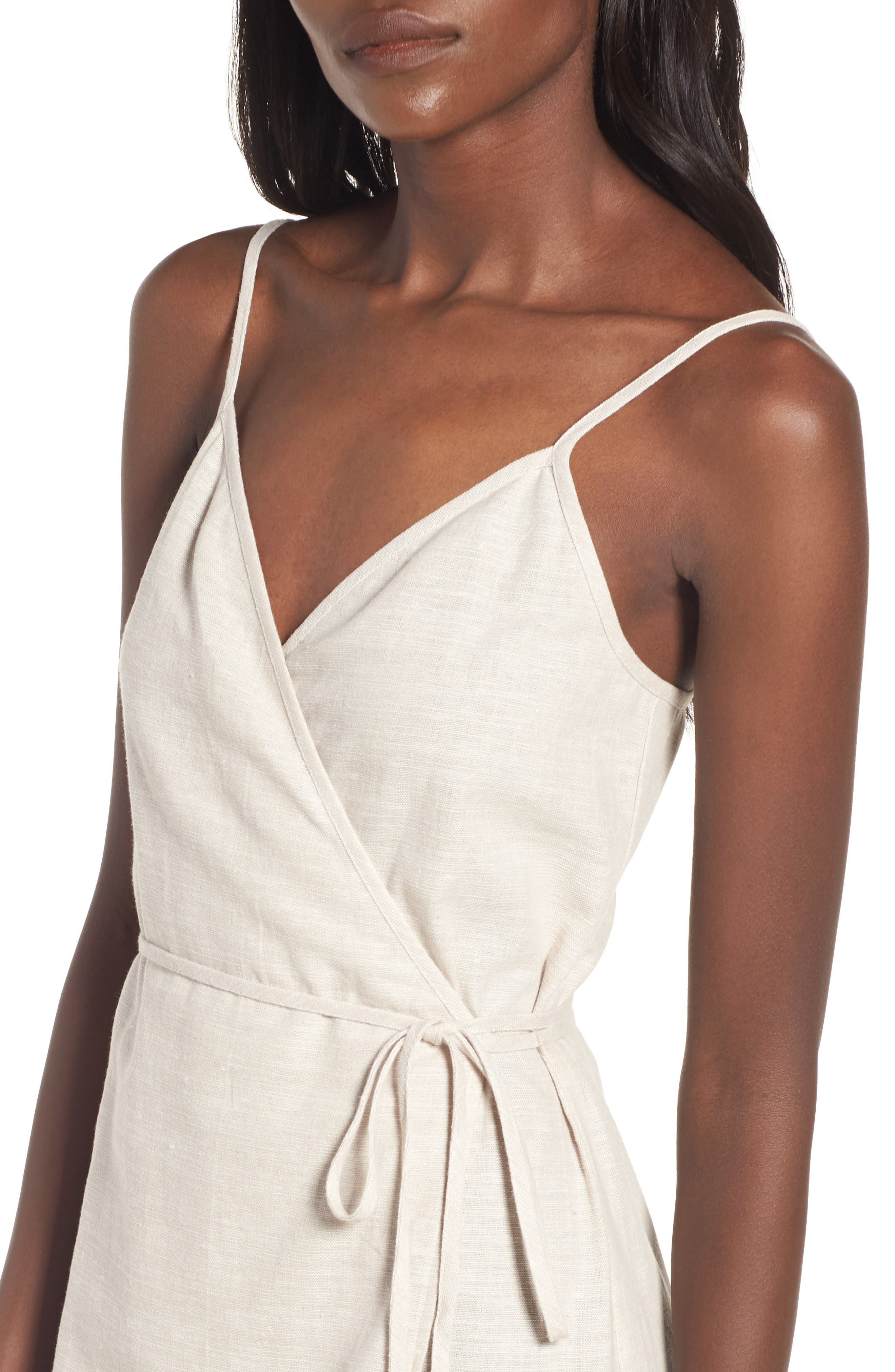 Wrap Midi Dress,                             Alternate thumbnail 14, color,