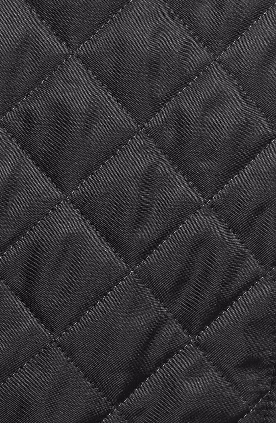 Ashurst Quilted Jacket,                             Alternate thumbnail 10, color,                             BLACK