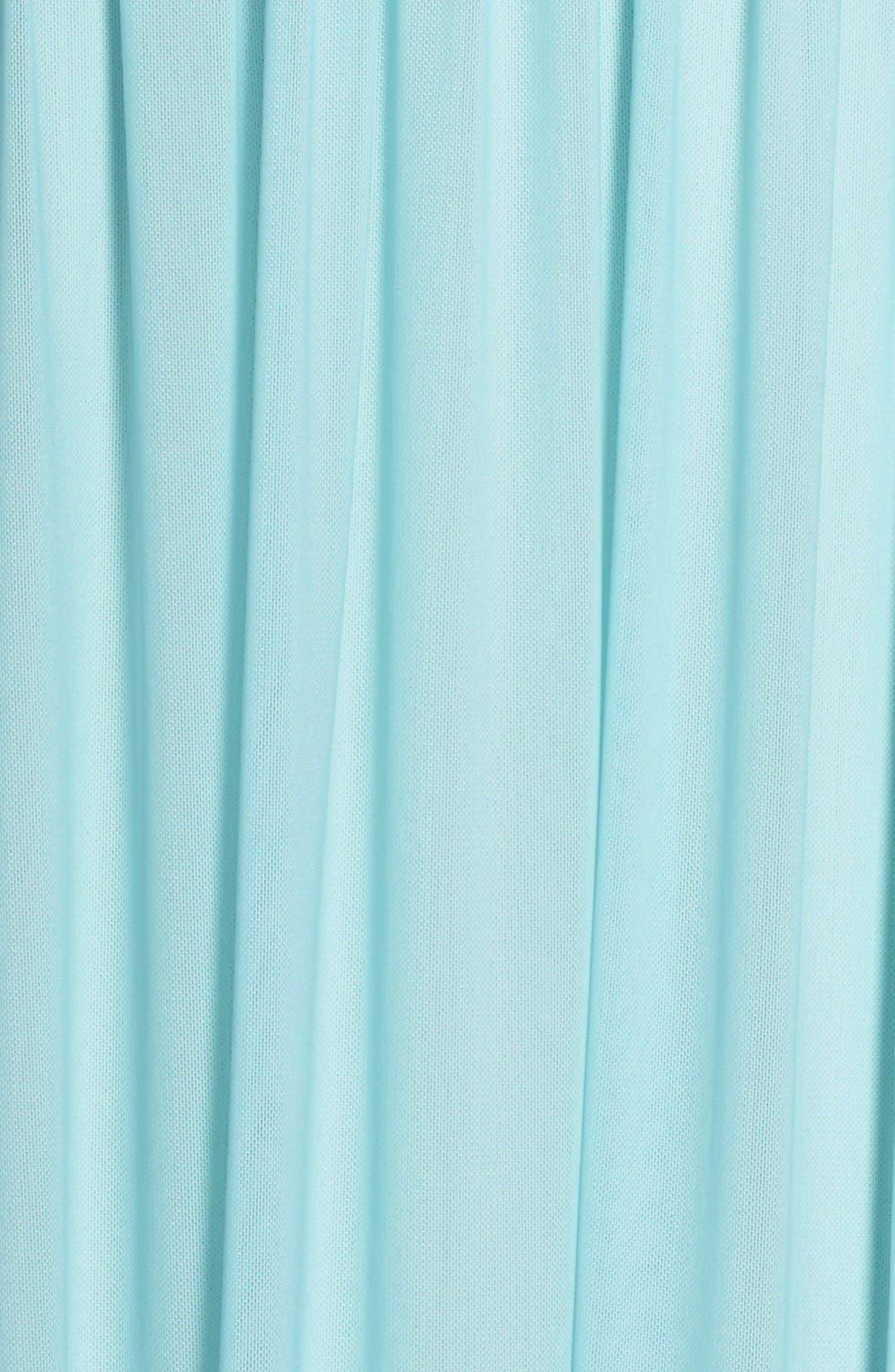 Illusion Neck A-Line Gown,                             Alternate thumbnail 14, color,