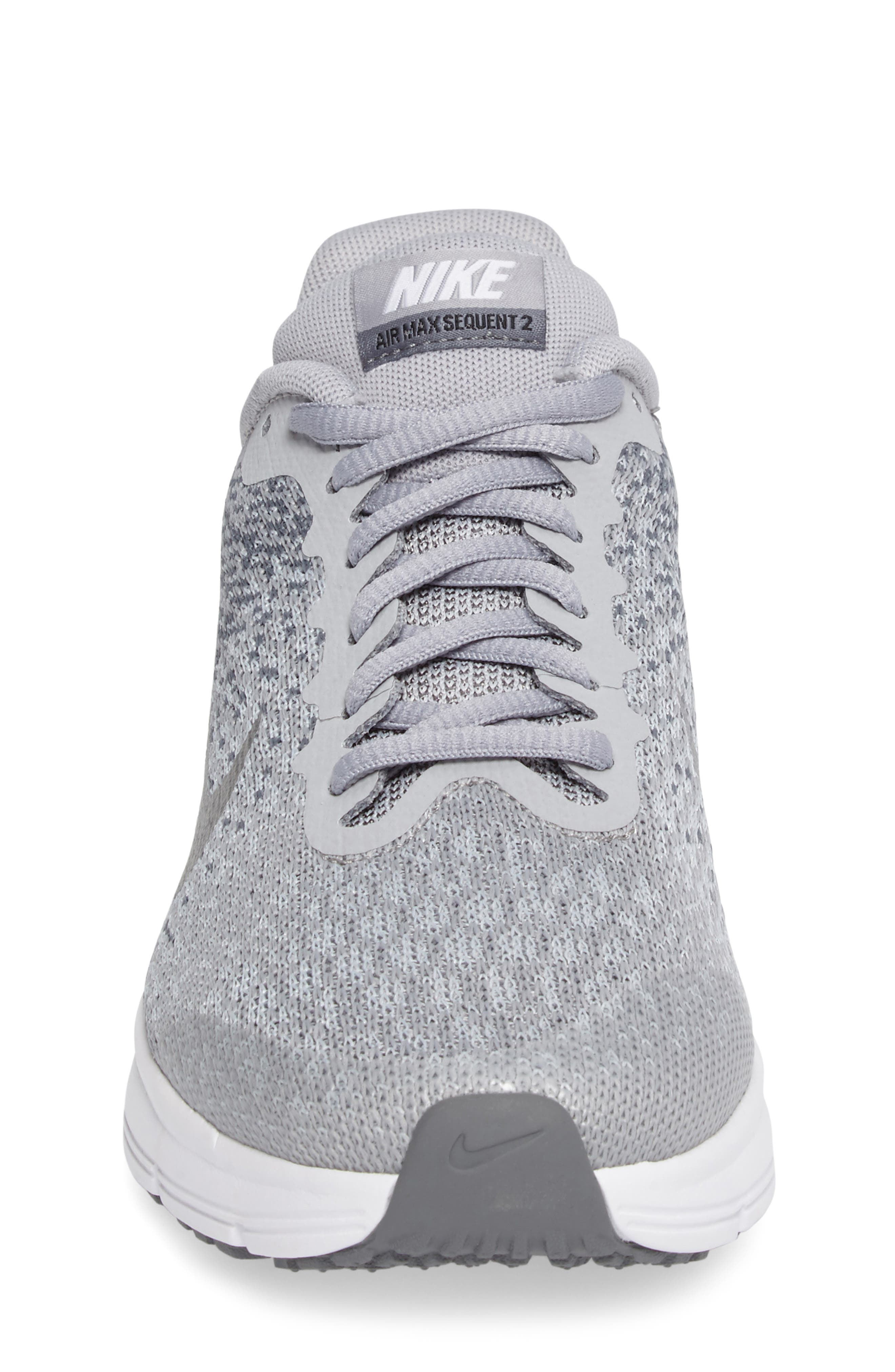 Air Max Sequent 2 Sneaker,                             Alternate thumbnail 4, color,                             020