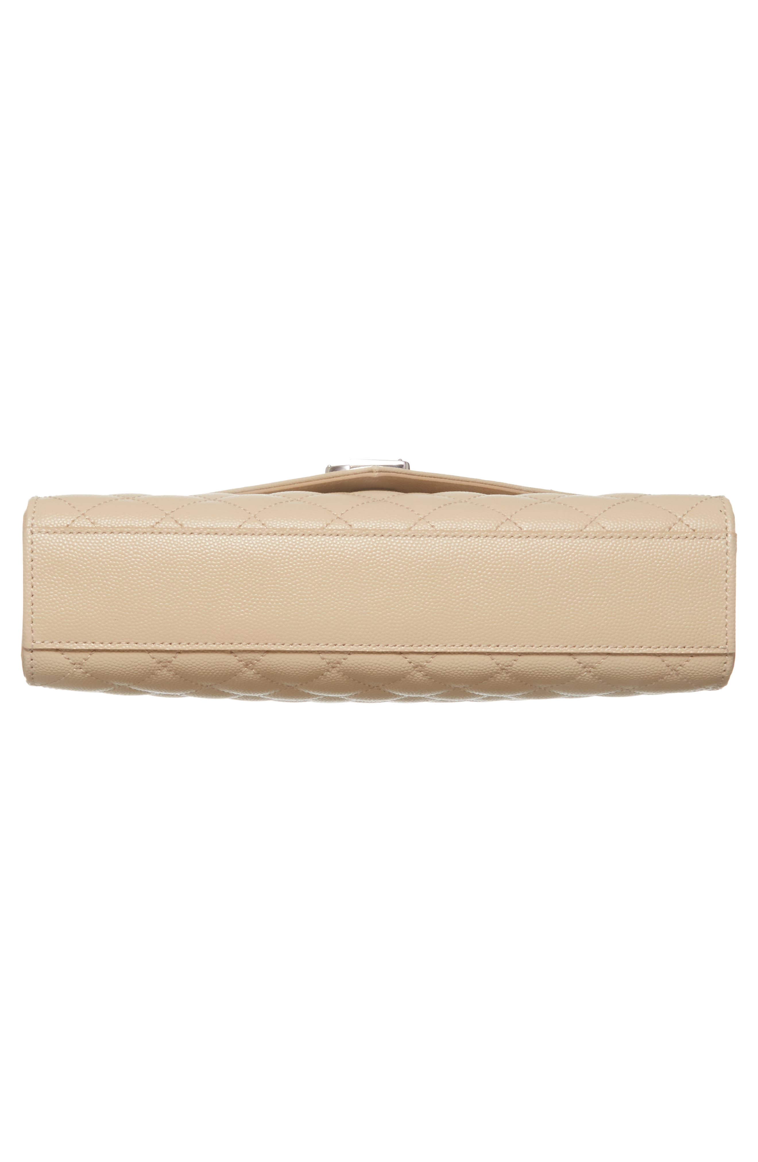 Medium Cassandra Calfskin Shoulder Bag,                             Alternate thumbnail 6, color,                             POUDRE