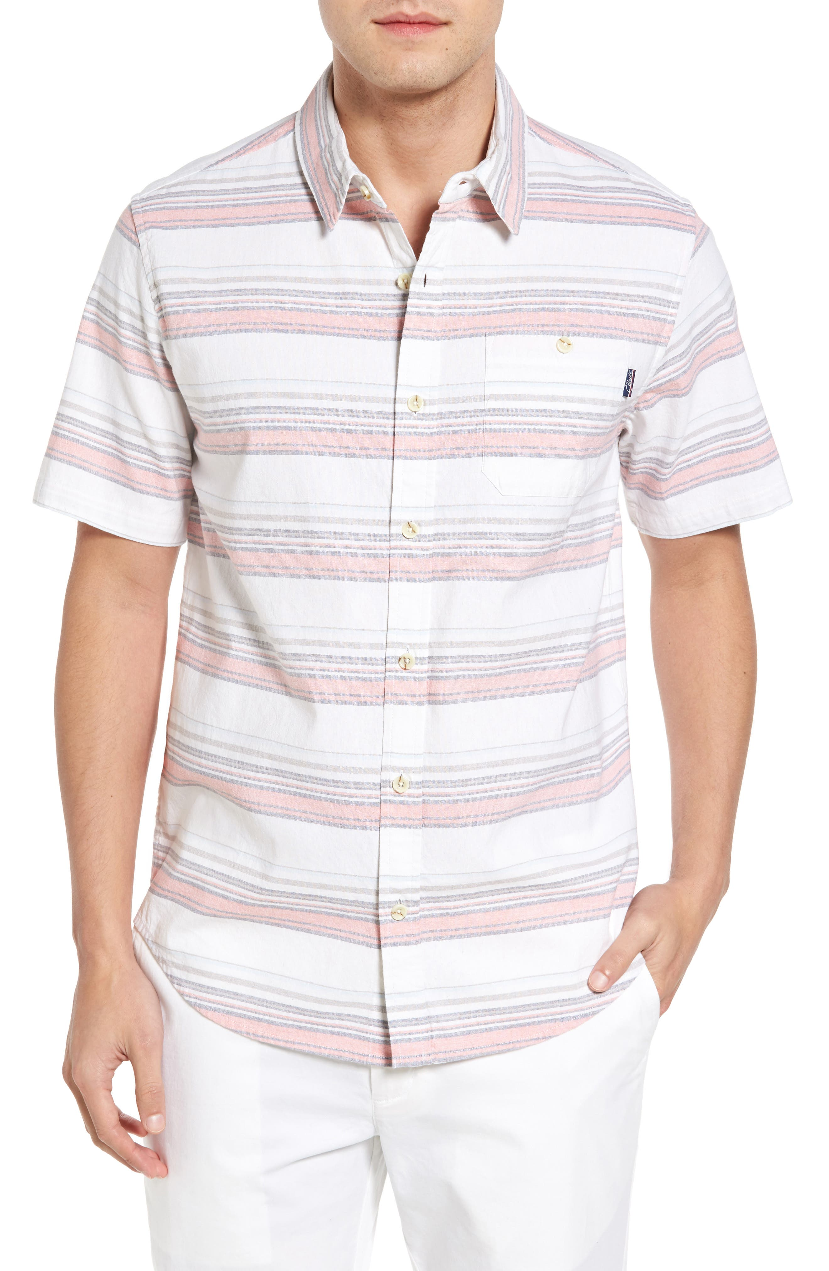 Pura Vida Sport Shirt,                         Main,                         color, 109