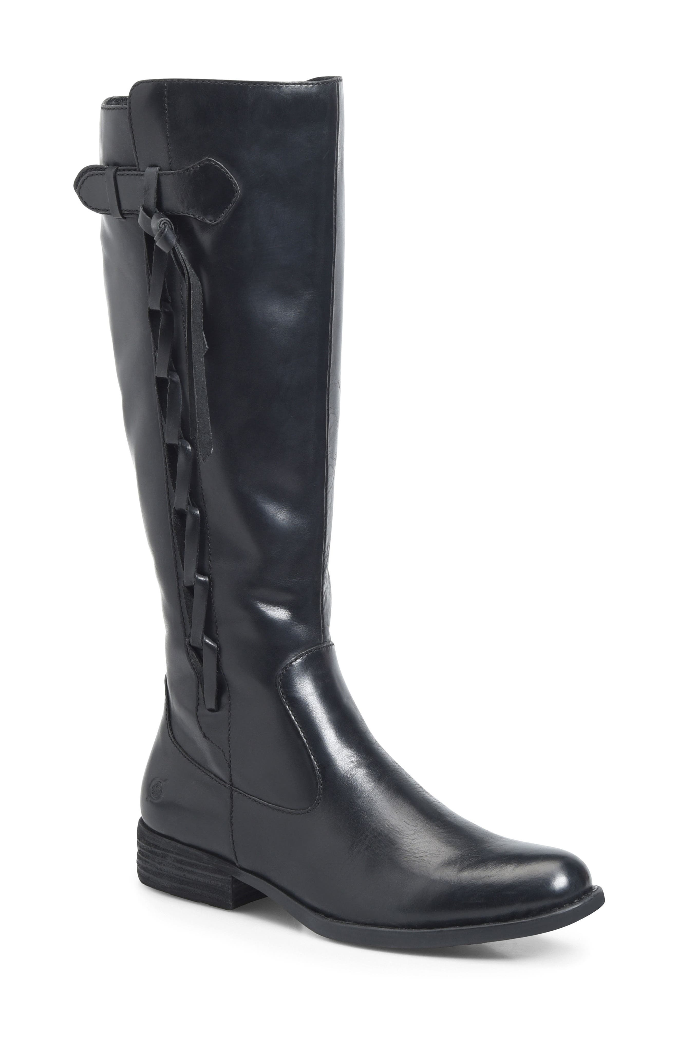Cook Knee High Boot,                             Main thumbnail 1, color,                             001