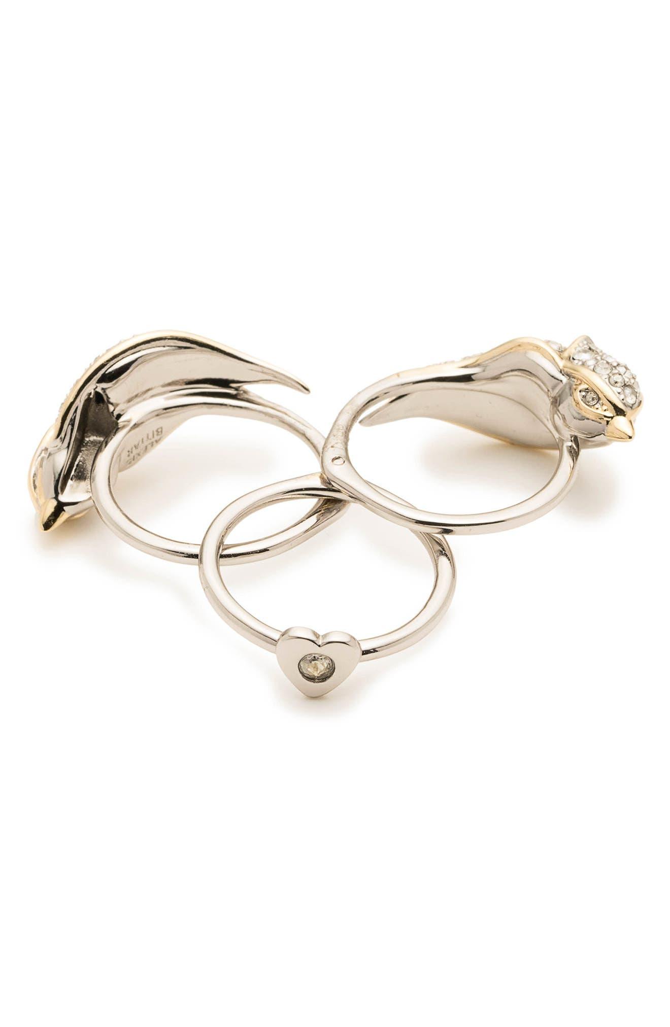 Secret Lovebird Ring,                             Alternate thumbnail 4, color,                             710