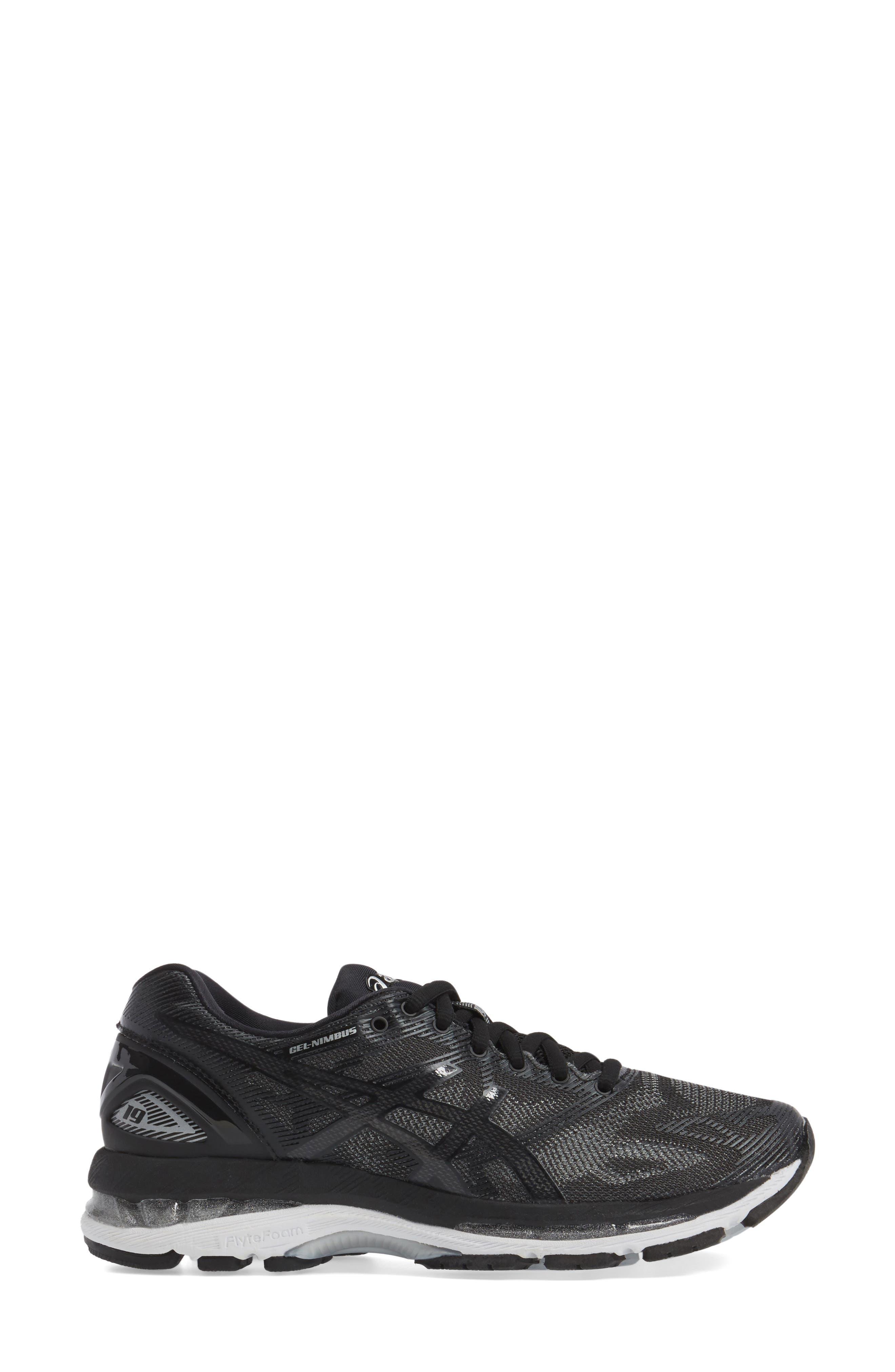 GEL<sup>®</sup>-Nimbus 19 Running Shoe,                             Alternate thumbnail 3, color,                             009