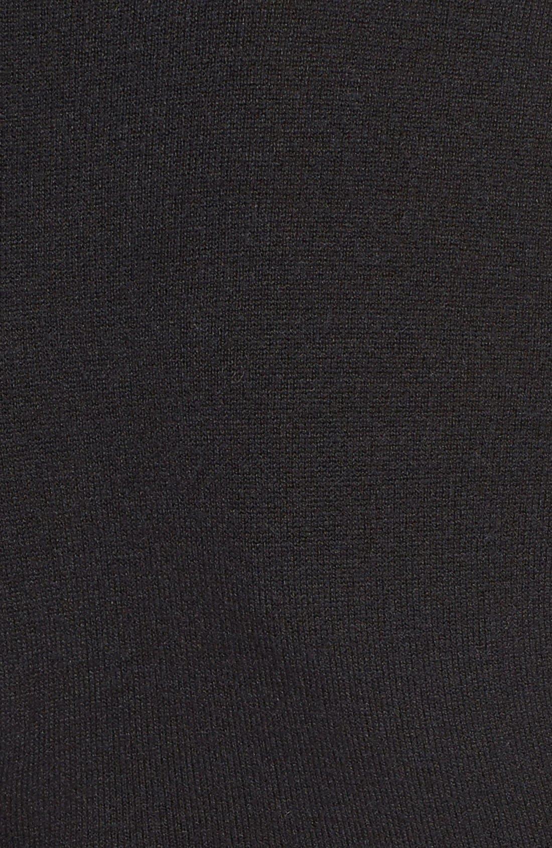 'Garrison' Mock Turtleneck,                             Alternate thumbnail 3, color,                             001
