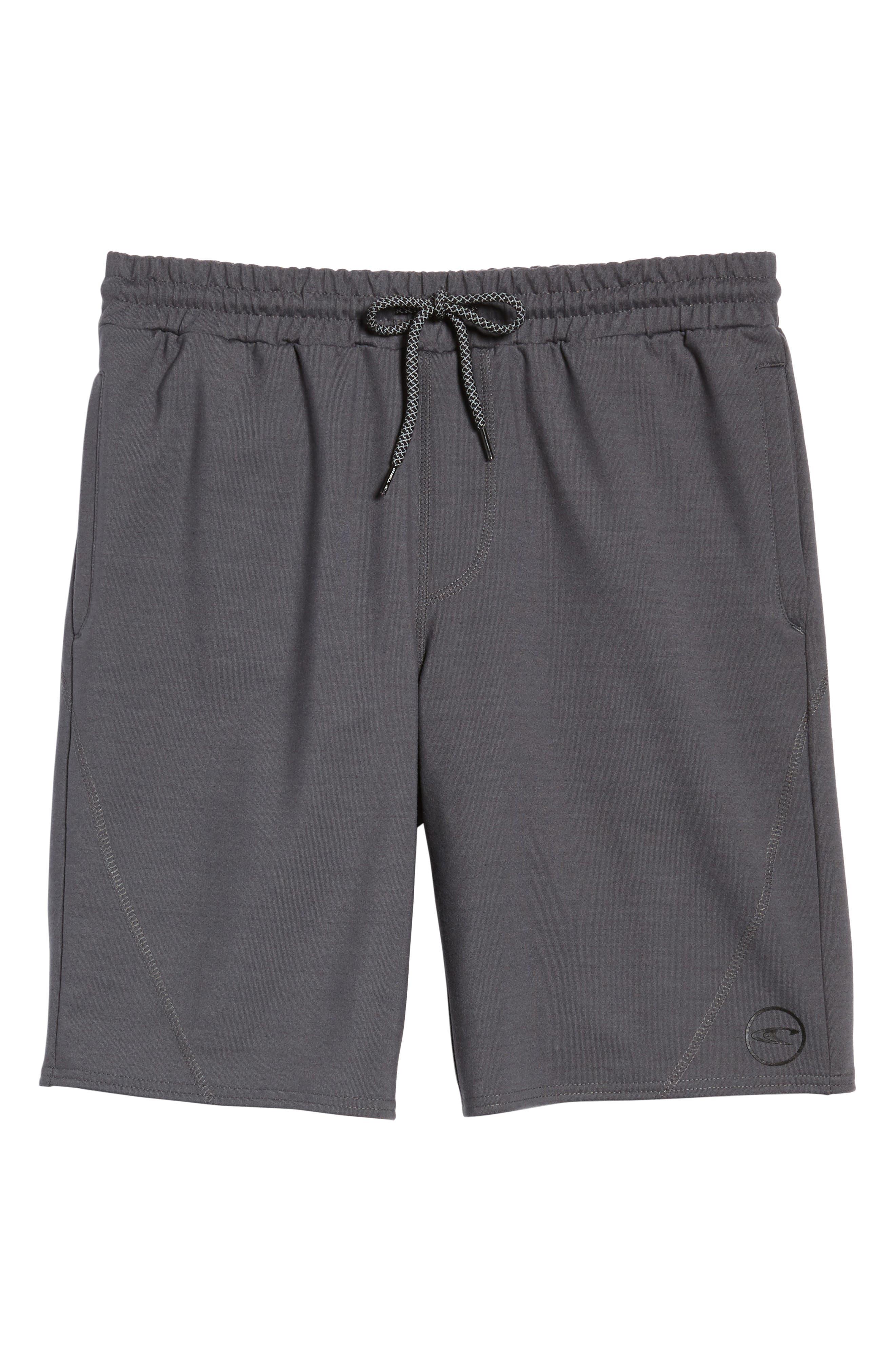 Traveler Fleece Shorts,                             Alternate thumbnail 6, color,                             020