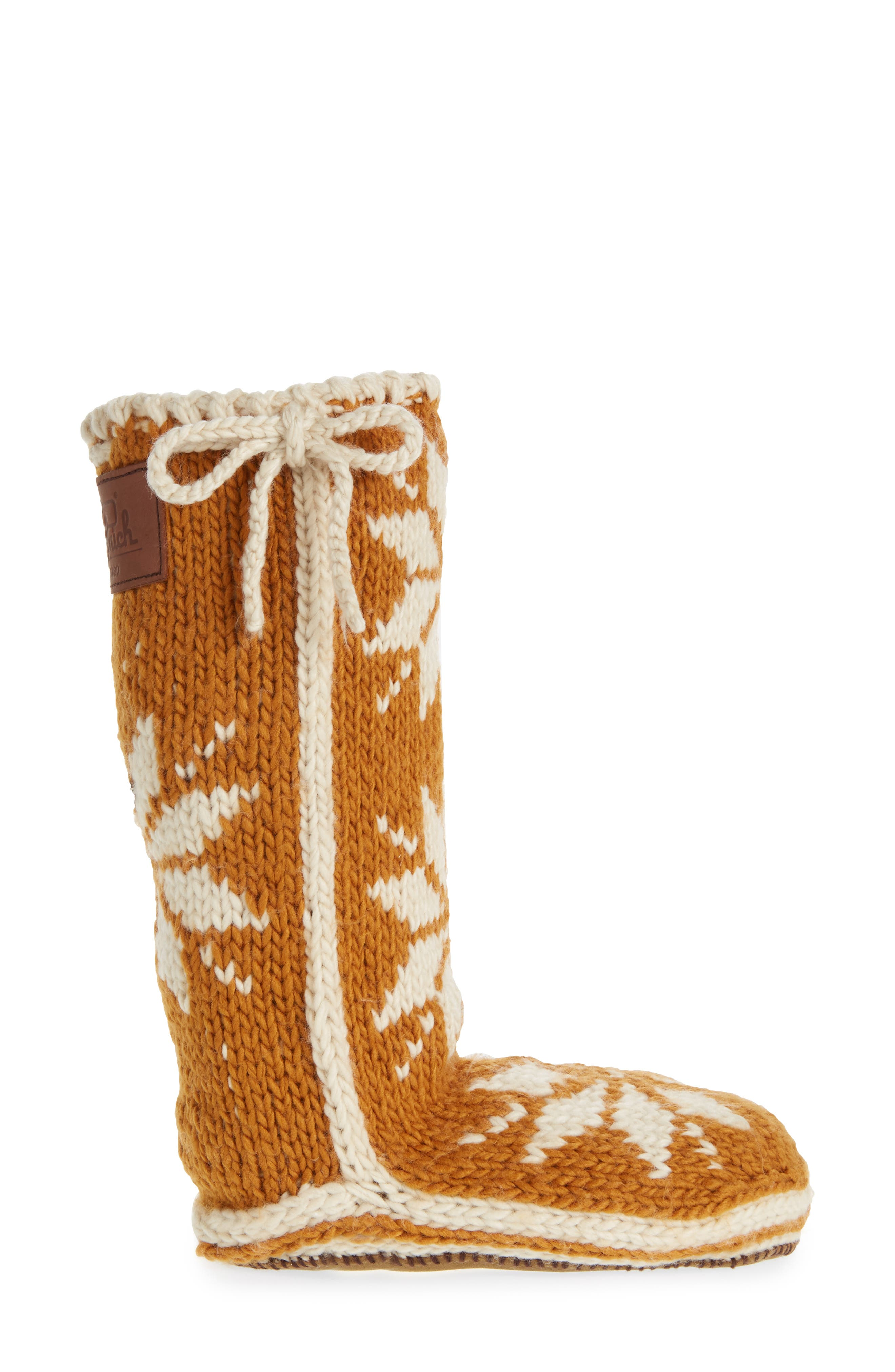 'Chalet' Socks,                             Alternate thumbnail 3, color,                             CATHAY SPICE FABRIC