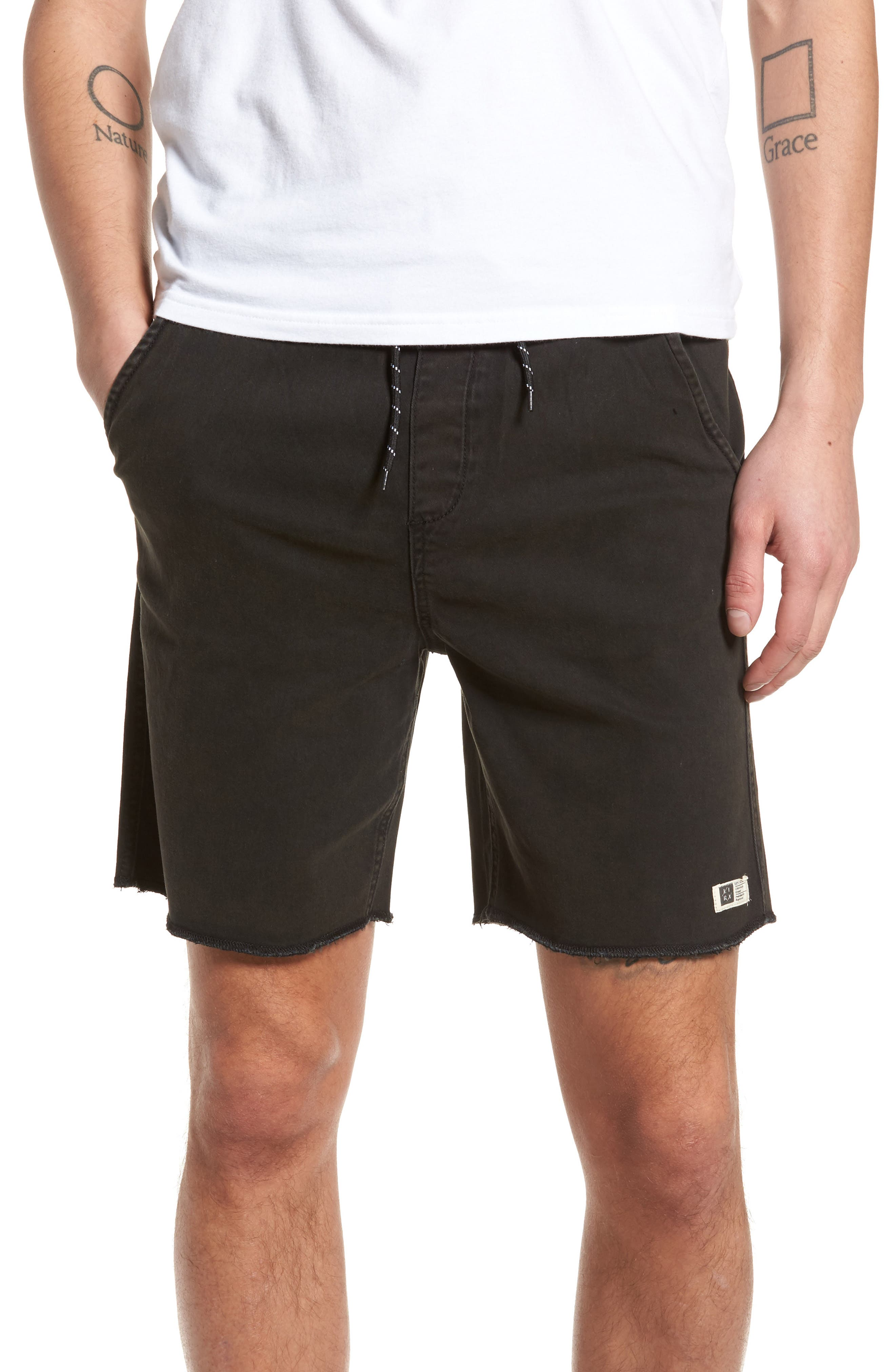 Frazier Walk Shorts,                             Main thumbnail 1, color,                             001