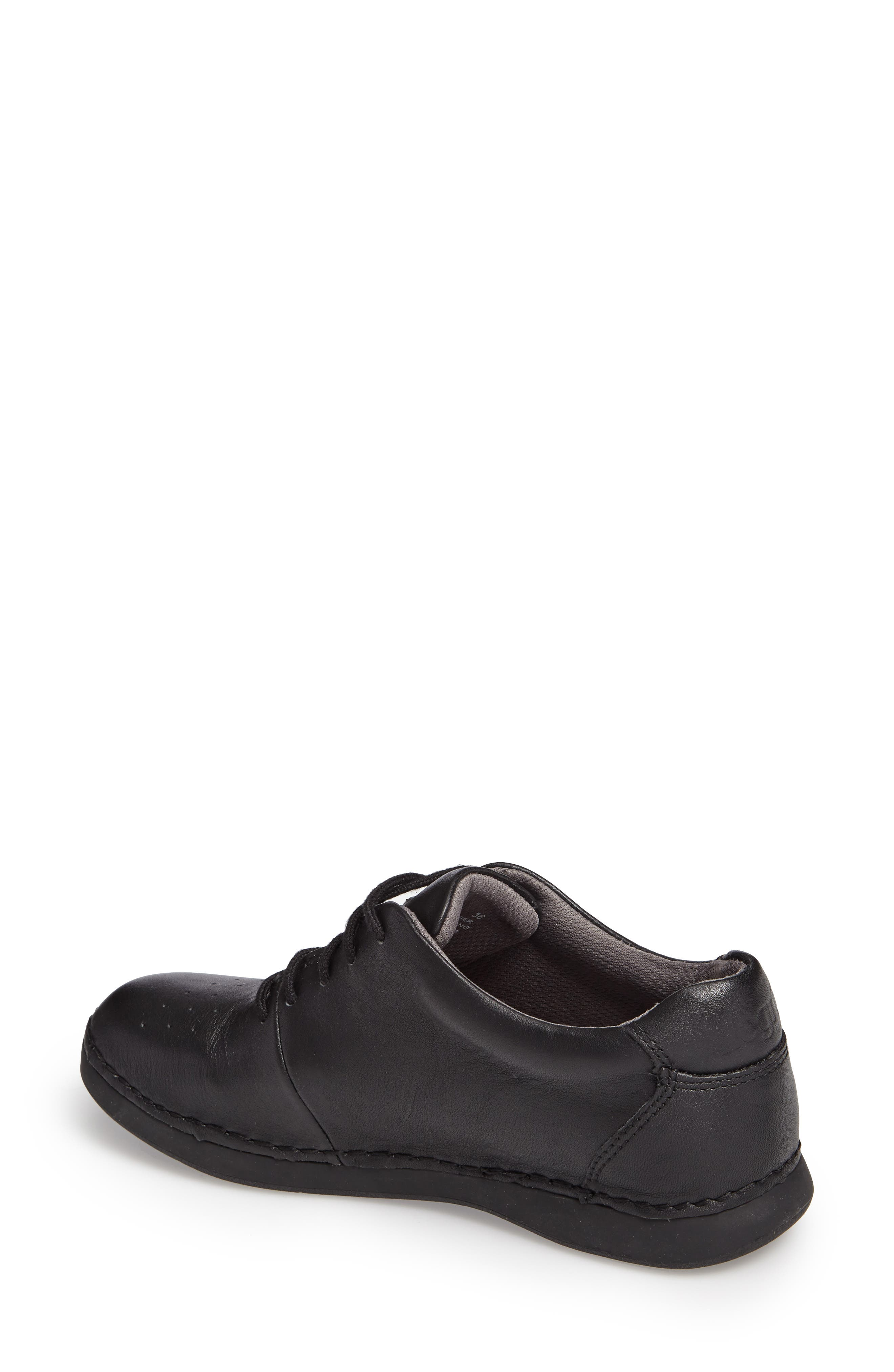 Essence Lace-Up Leather Oxford,                             Alternate thumbnail 42, color,