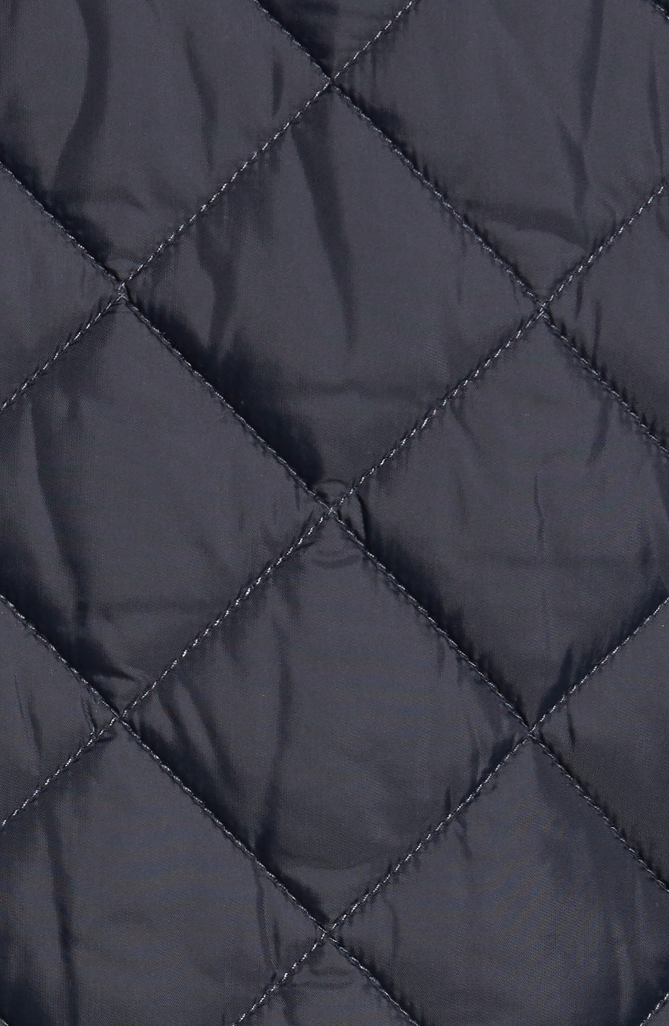 Pod Slim Fit Quilted Jacket,                             Alternate thumbnail 7, color,                             NAVY/ BLUE