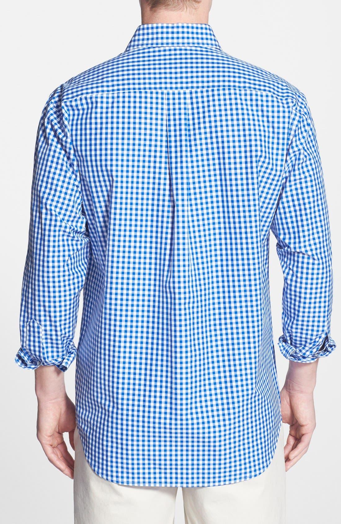 'Cooper' Classic Fit Gingham Sport Shirt,                             Alternate thumbnail 2, color,                             438